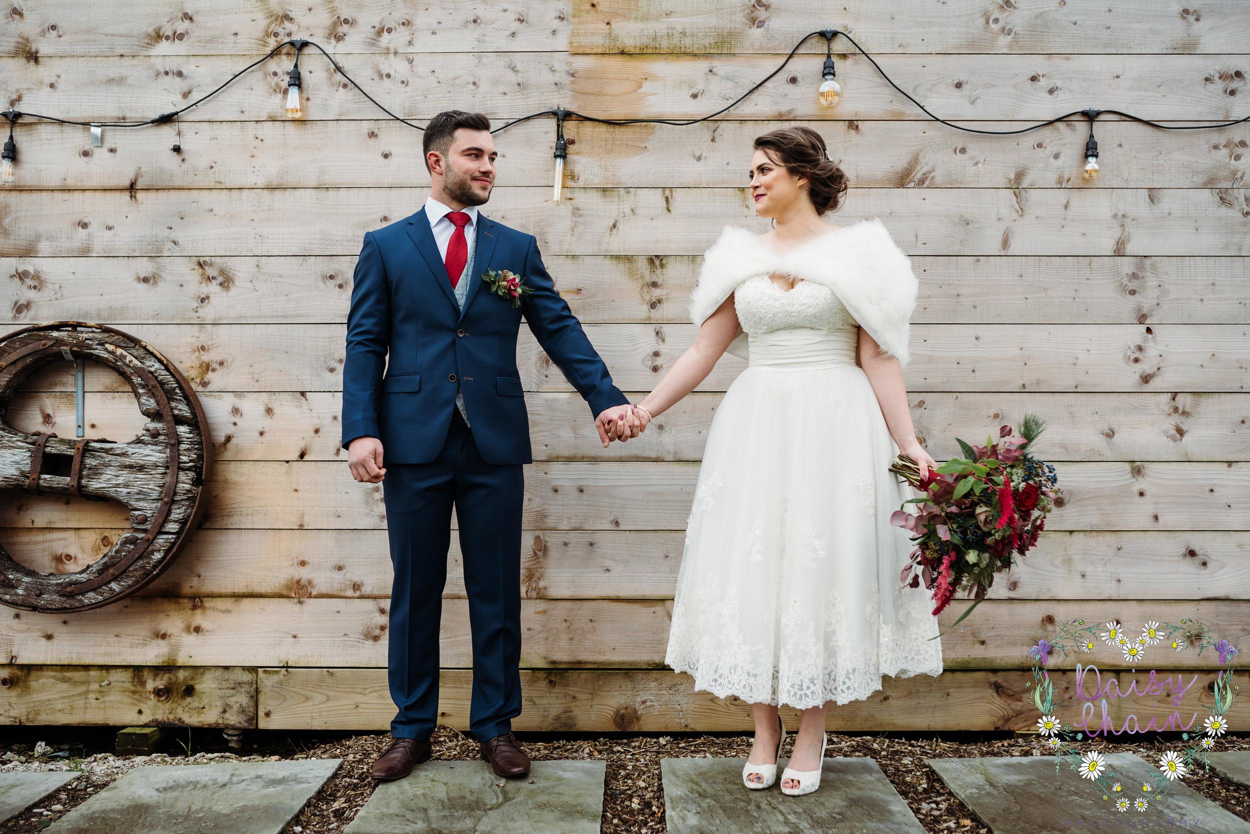 Bashall Barn  - rustic wedding
