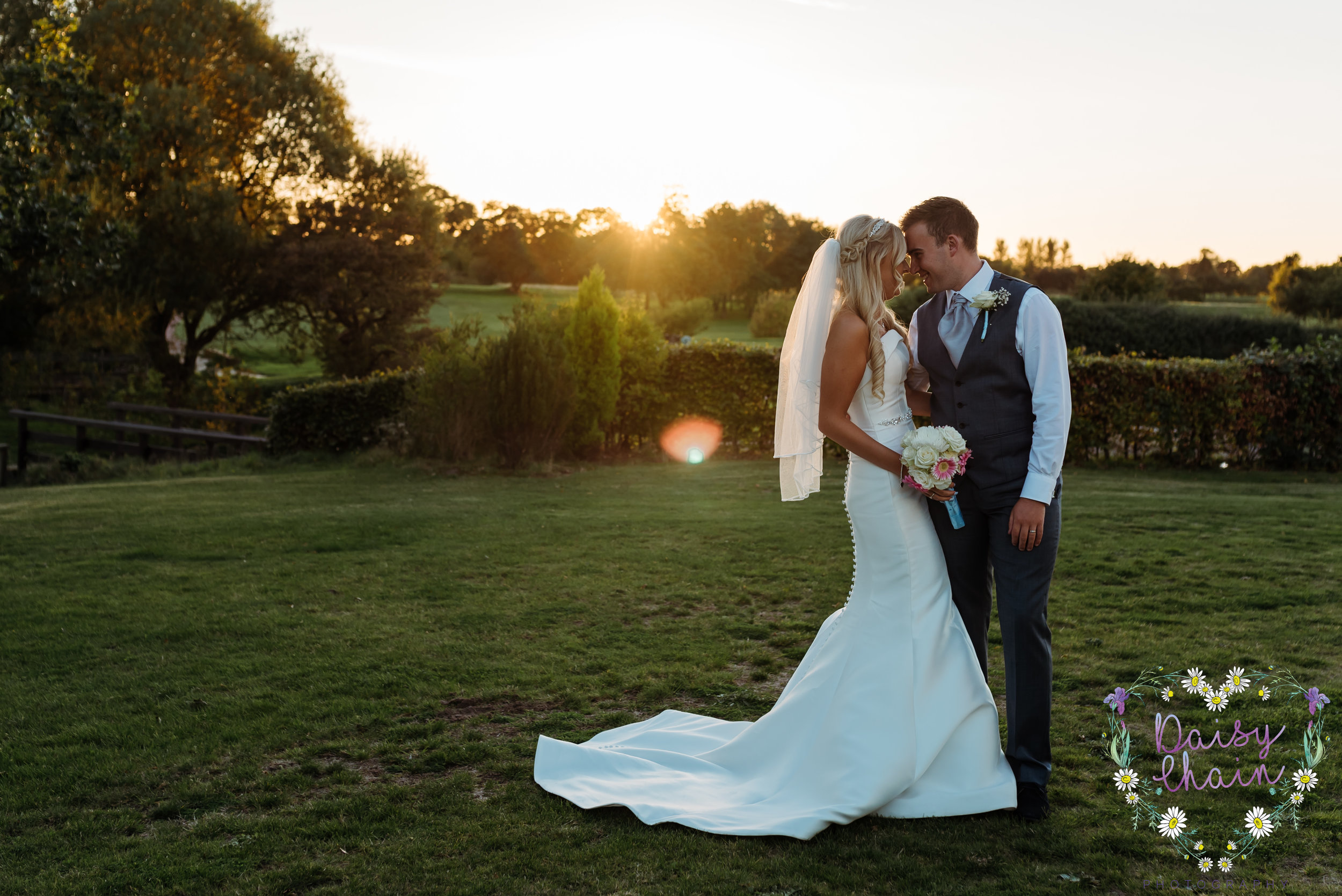 Sunset wedding photography - Merseyside