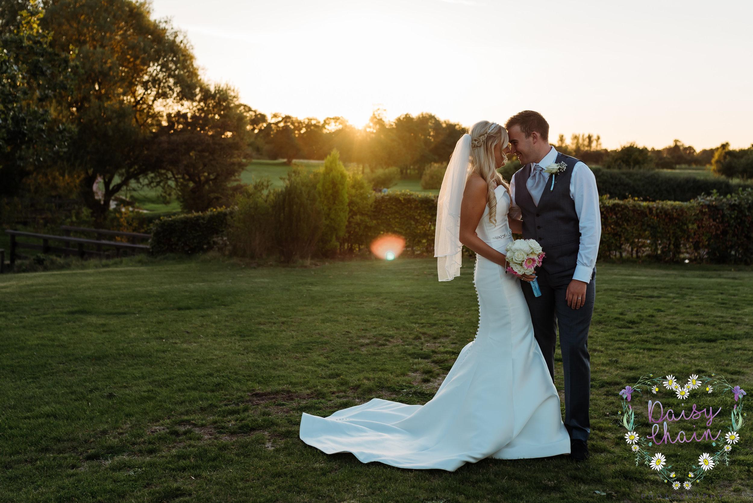 Sunset wedding photography - Merseyside