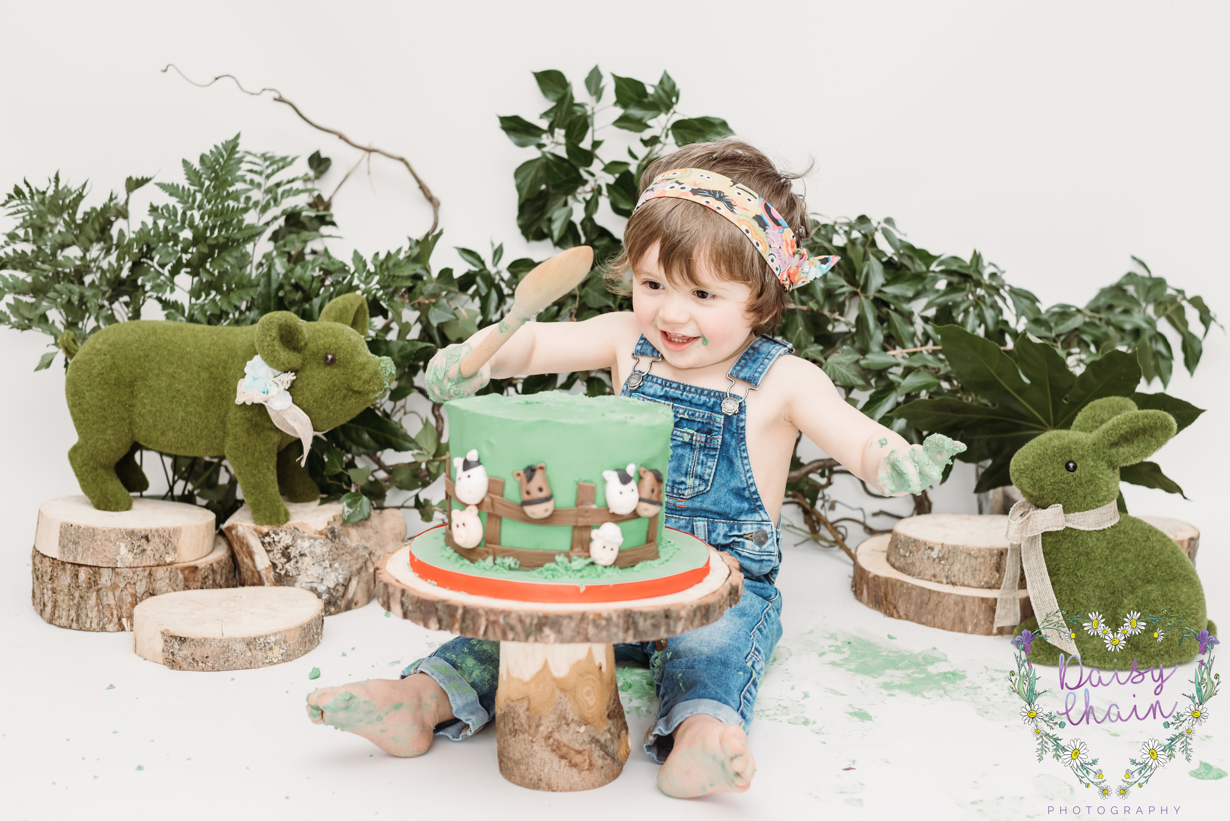 cake smash ideas - lancashire