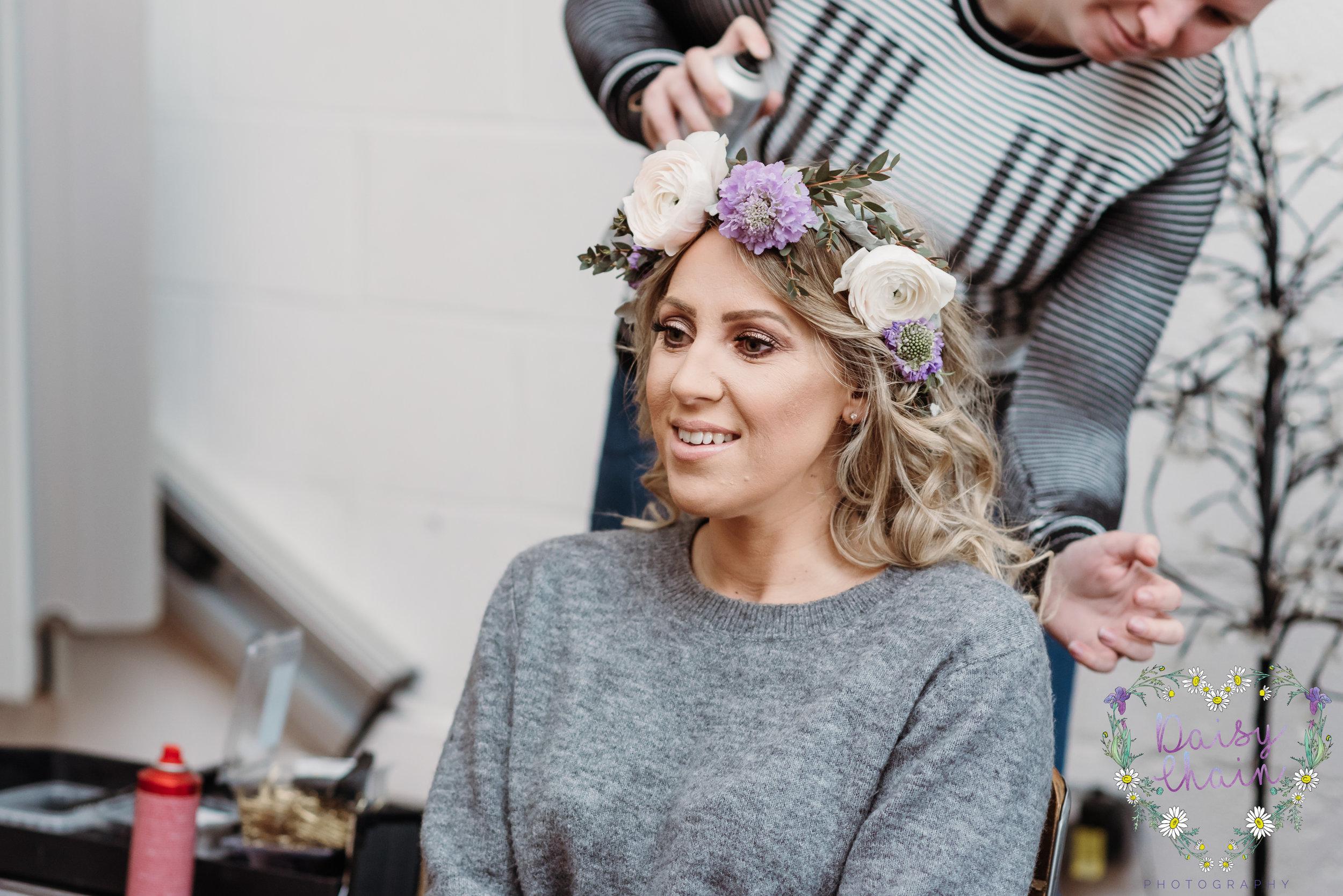 Boho flower crown - lancashire