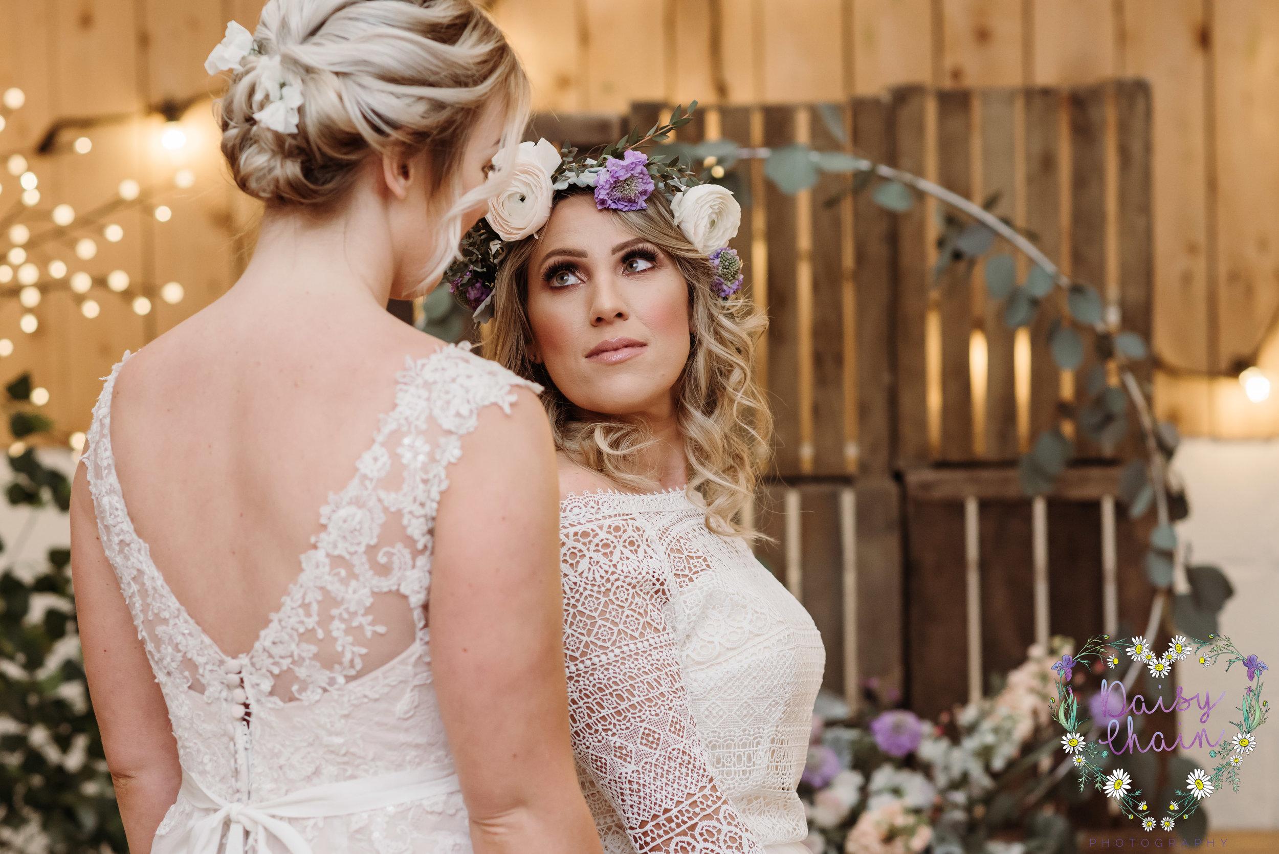 same sex wedding - lancashire