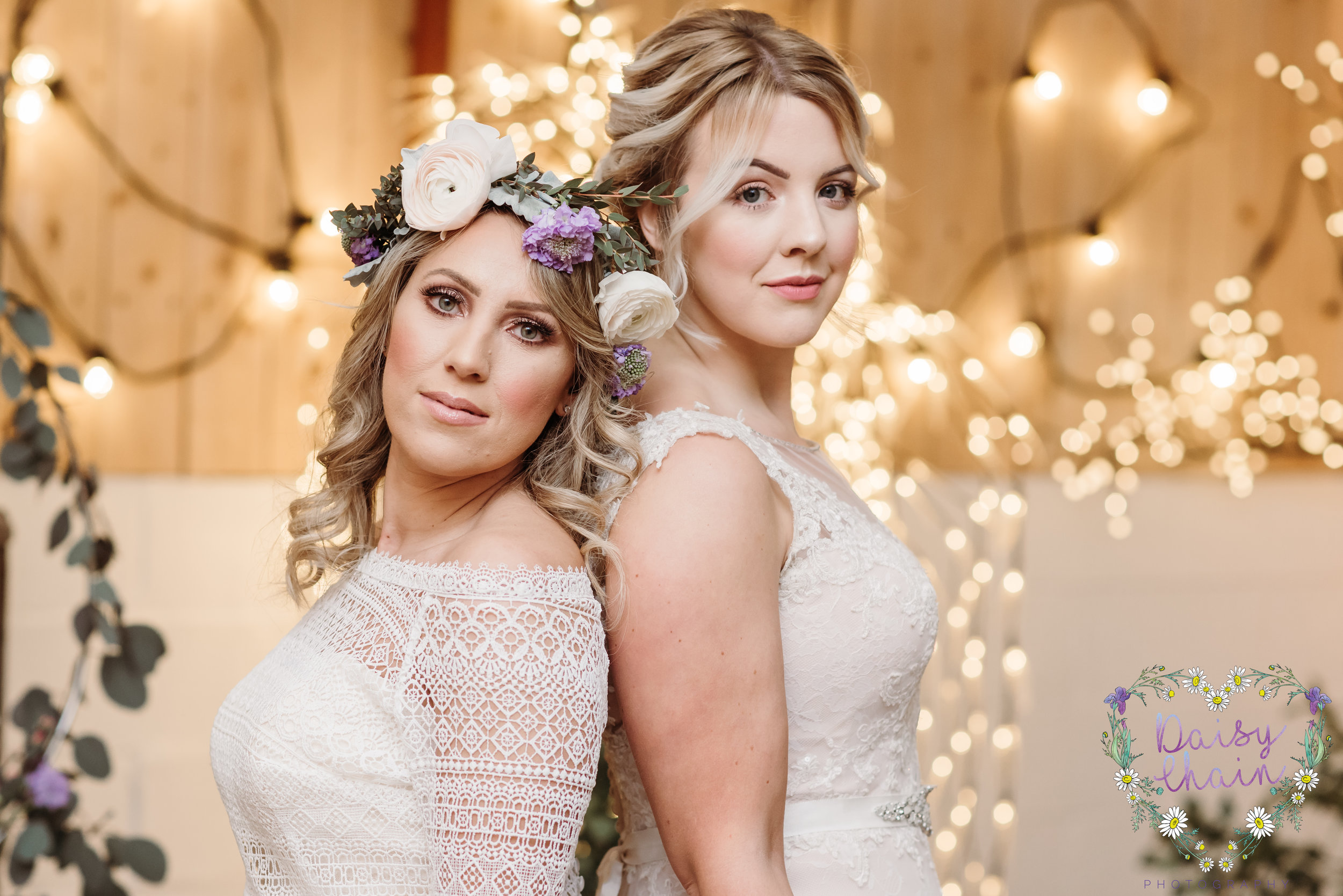 Boho brides - flower crown