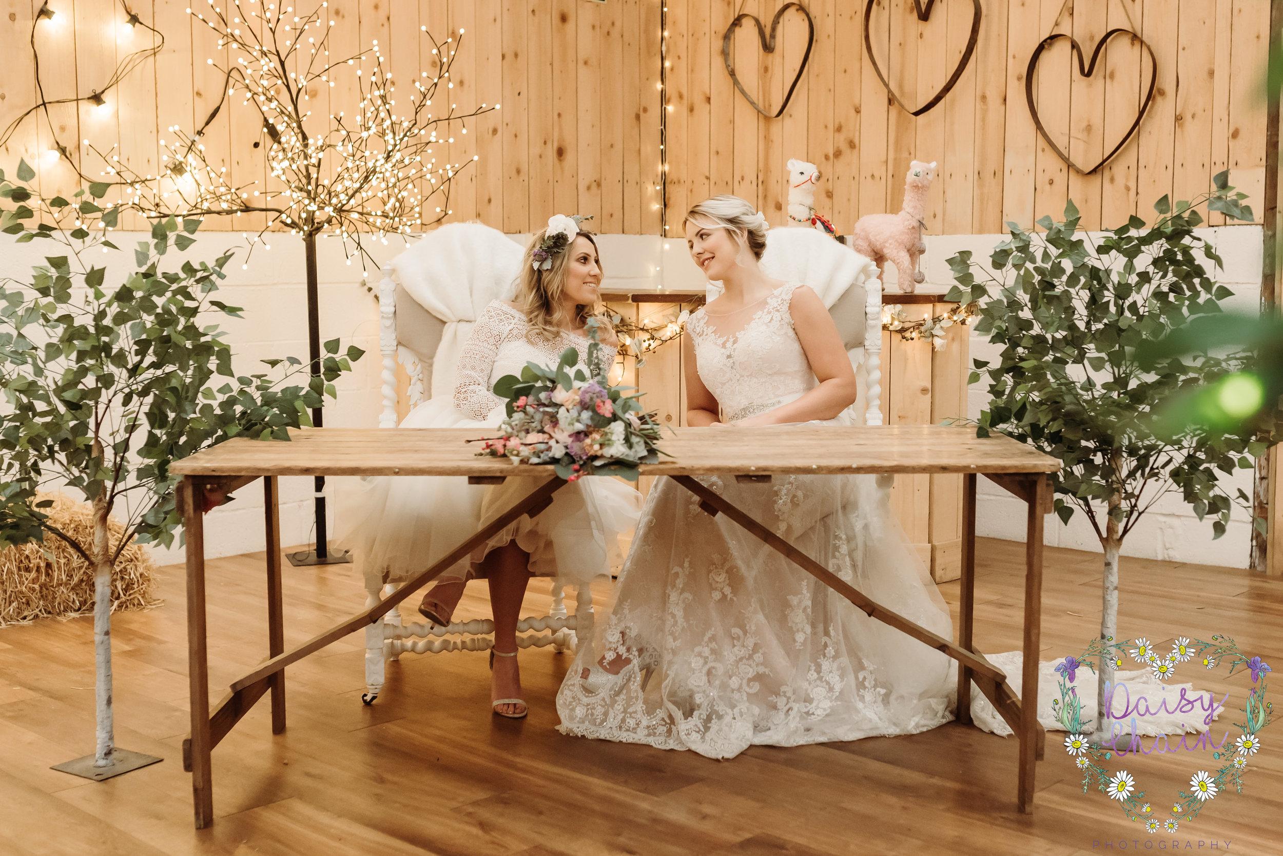two brides - same sex wedding