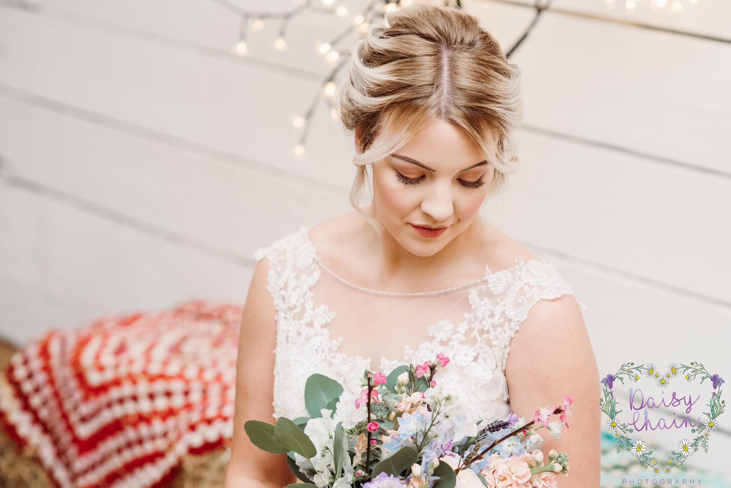 Bridal portrait - lancashire