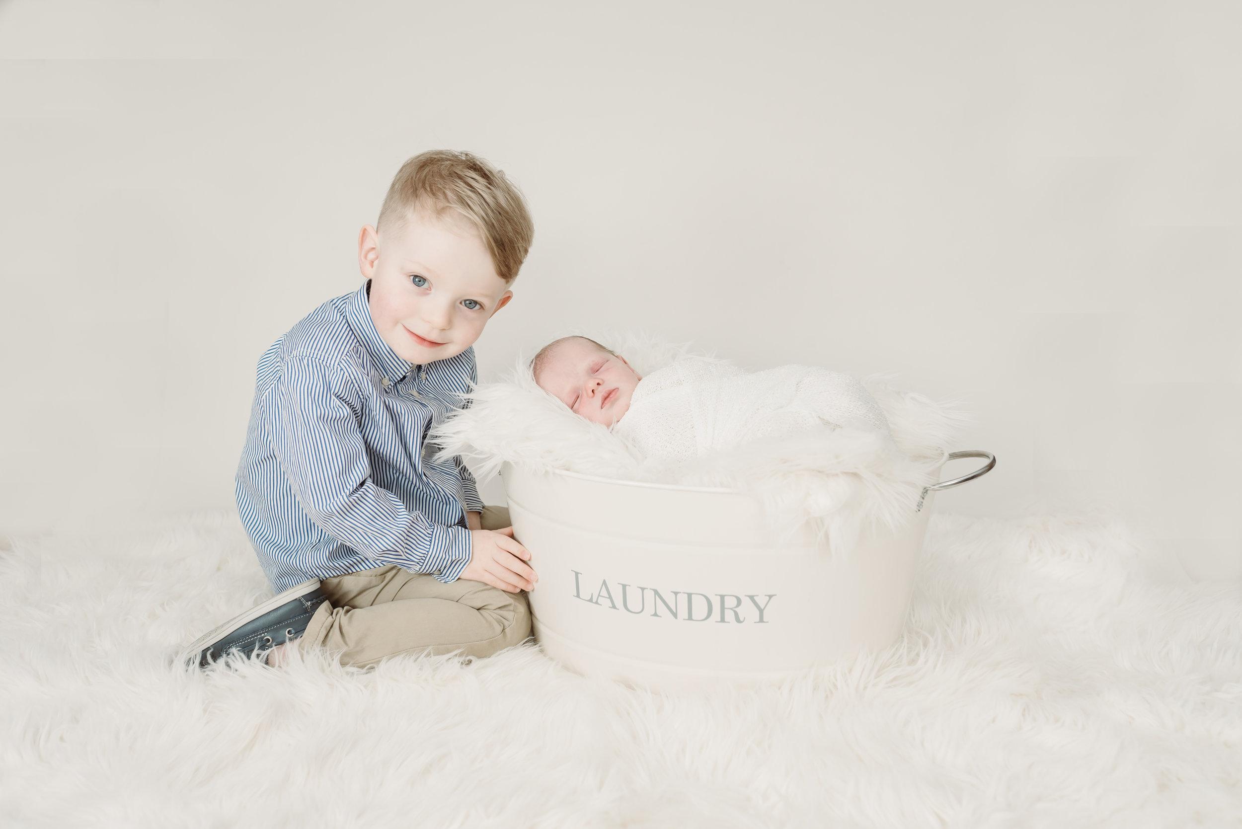 Lancashire newborn boy - 1 week old