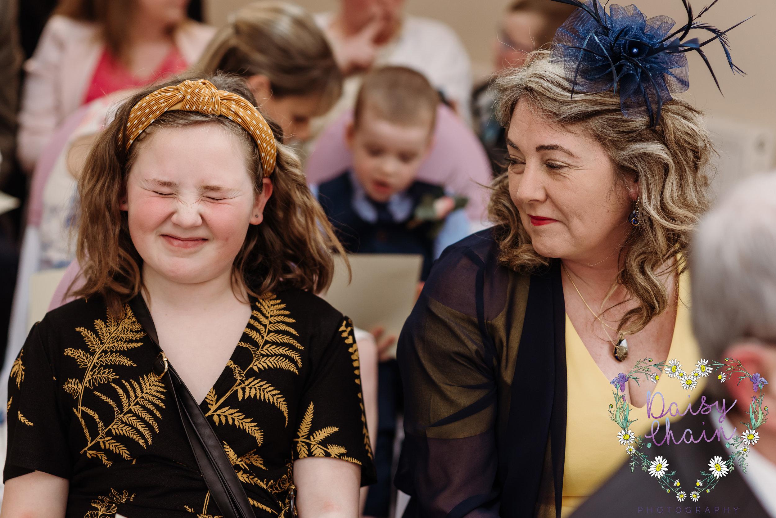 wedding guests - lancashire
