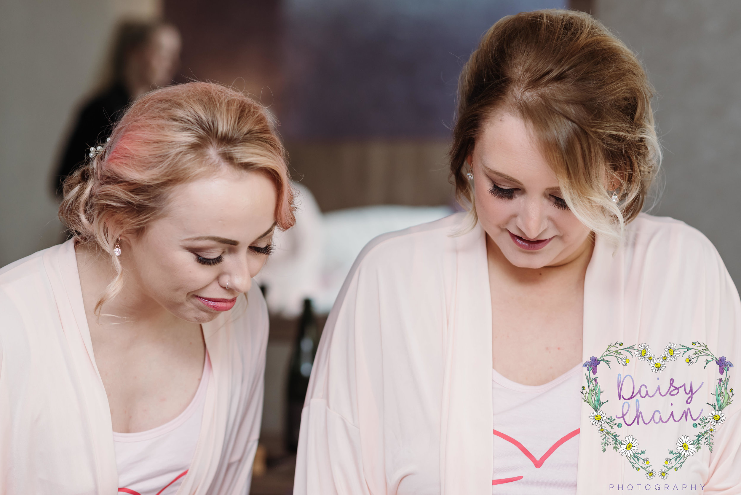 Bridal preparation - bridesmaids