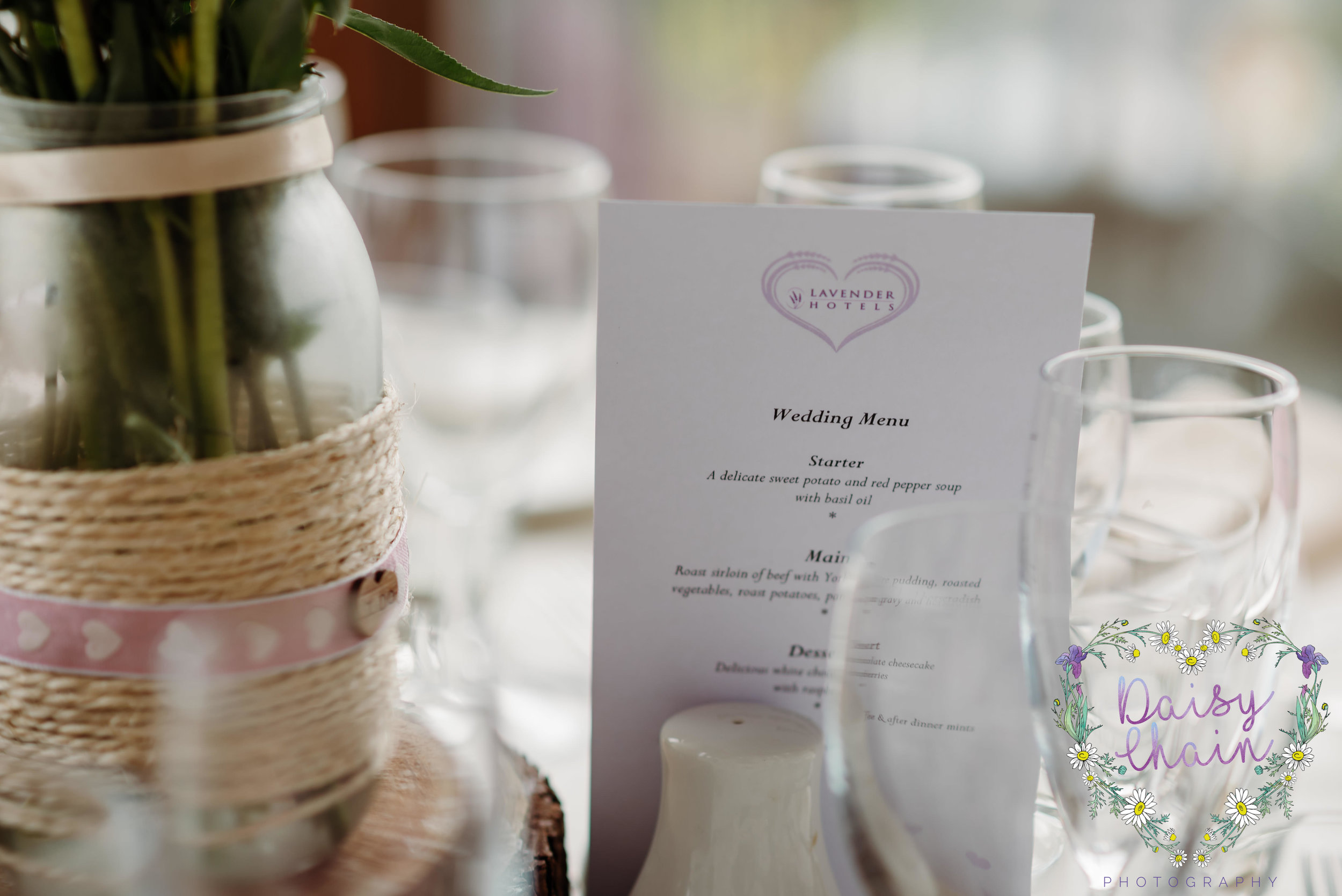 wedding breakfast menu
