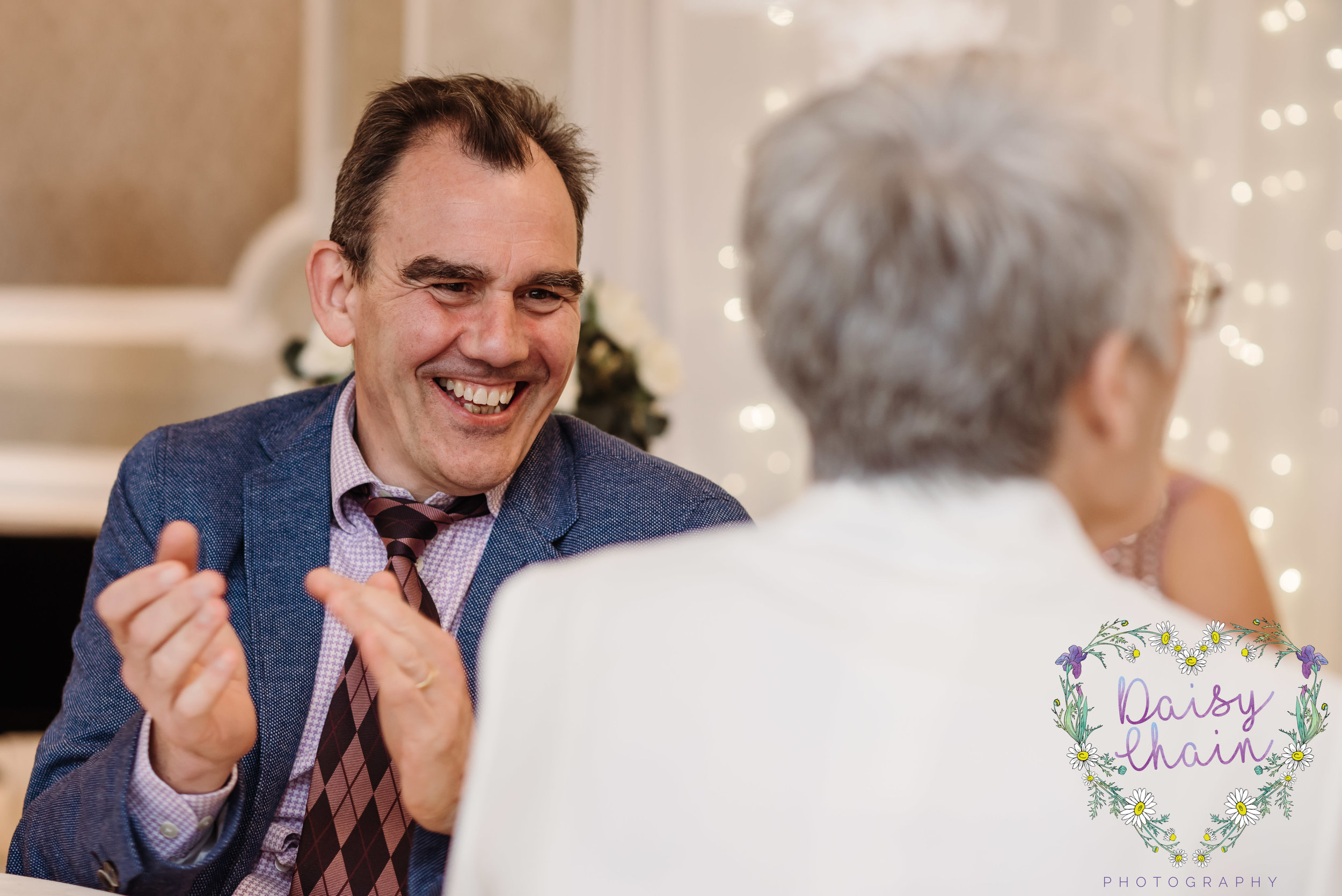 guest reaction to wedding speeches
