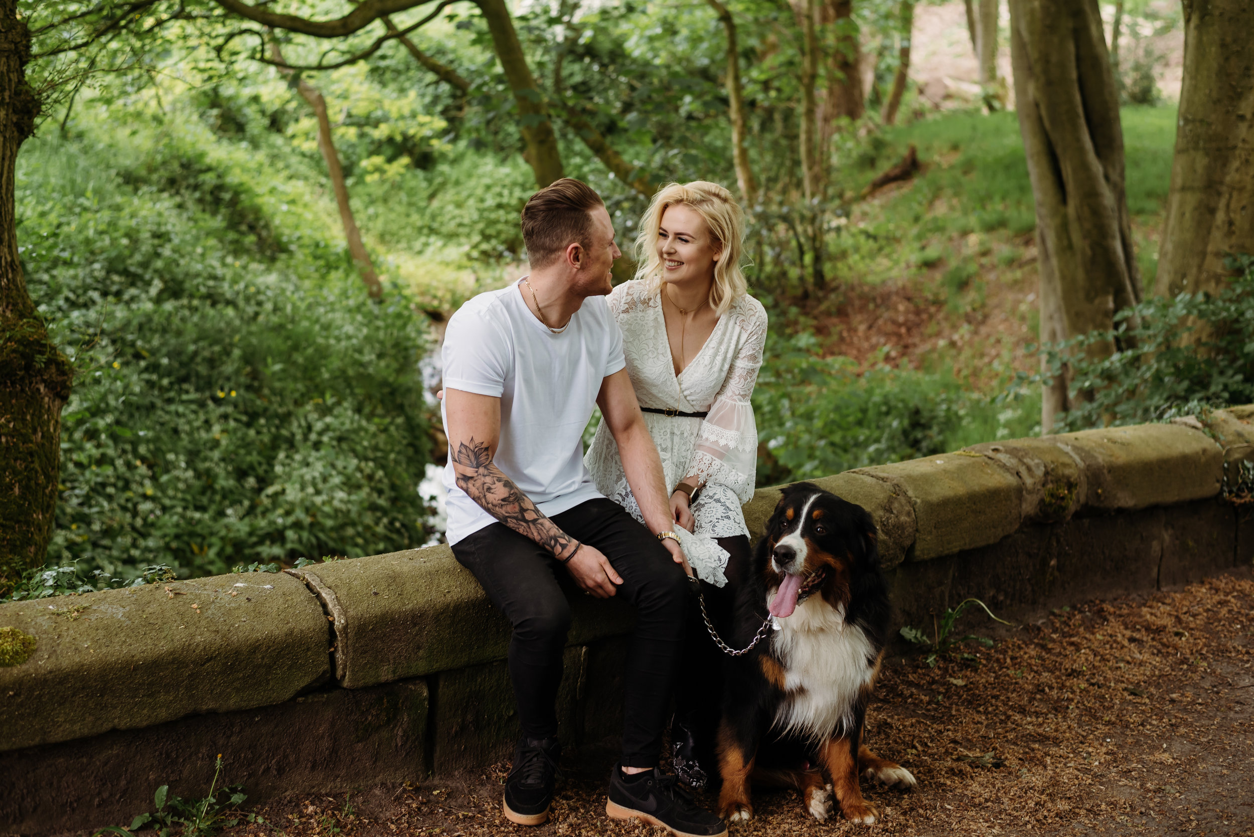 Lancashire engagement shoot