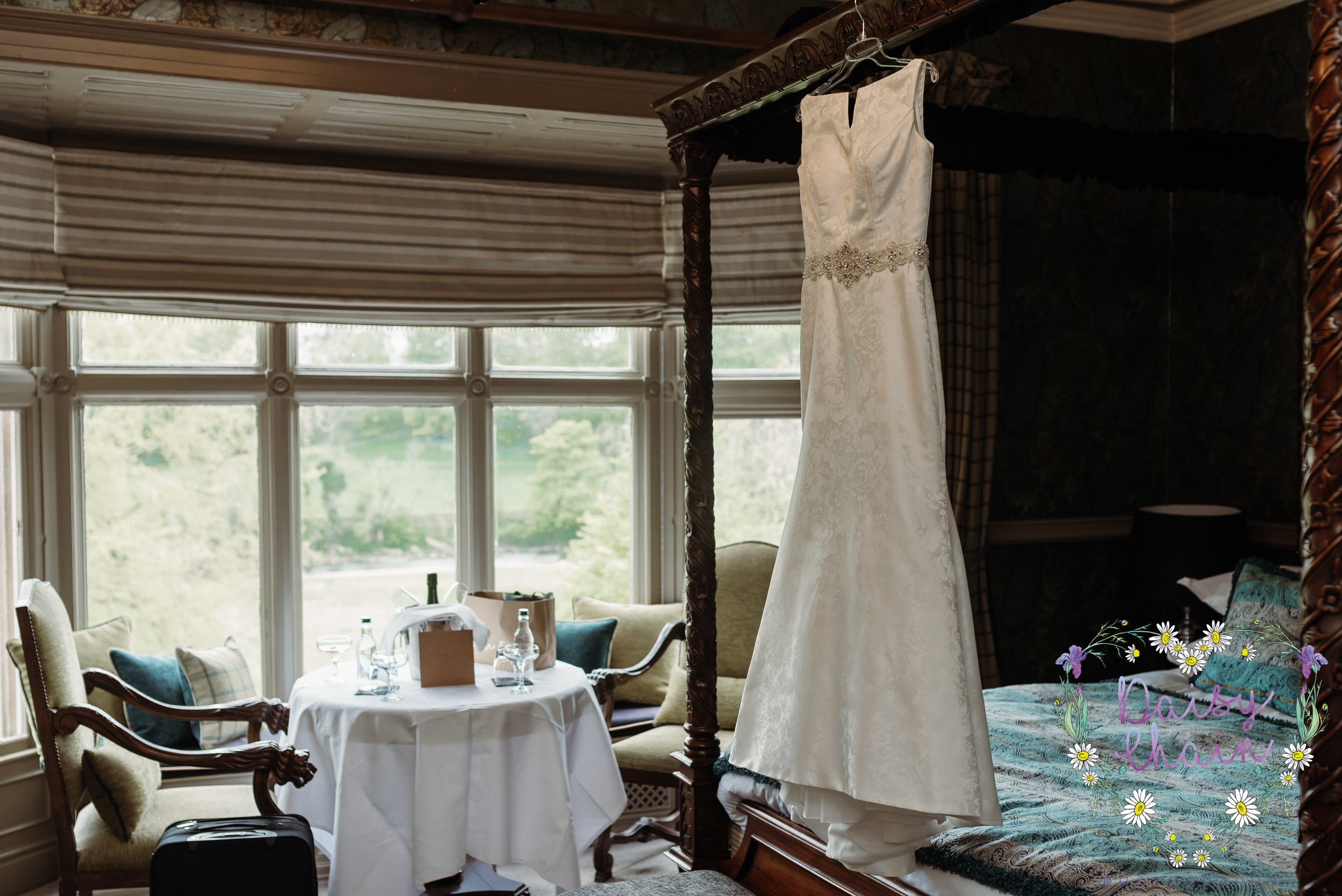 Mitton Hall bridal suite