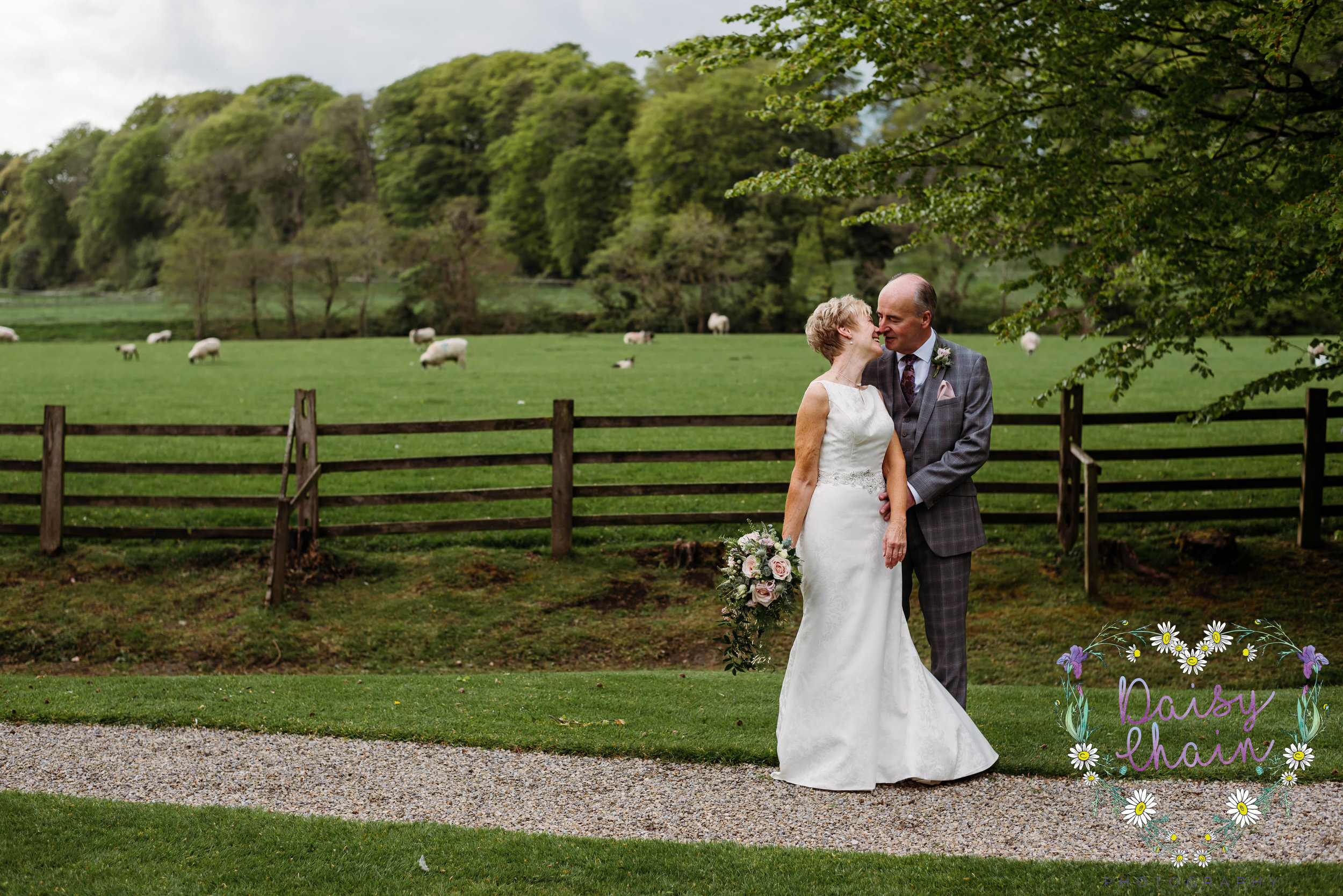 Couples portraits at mitton hall