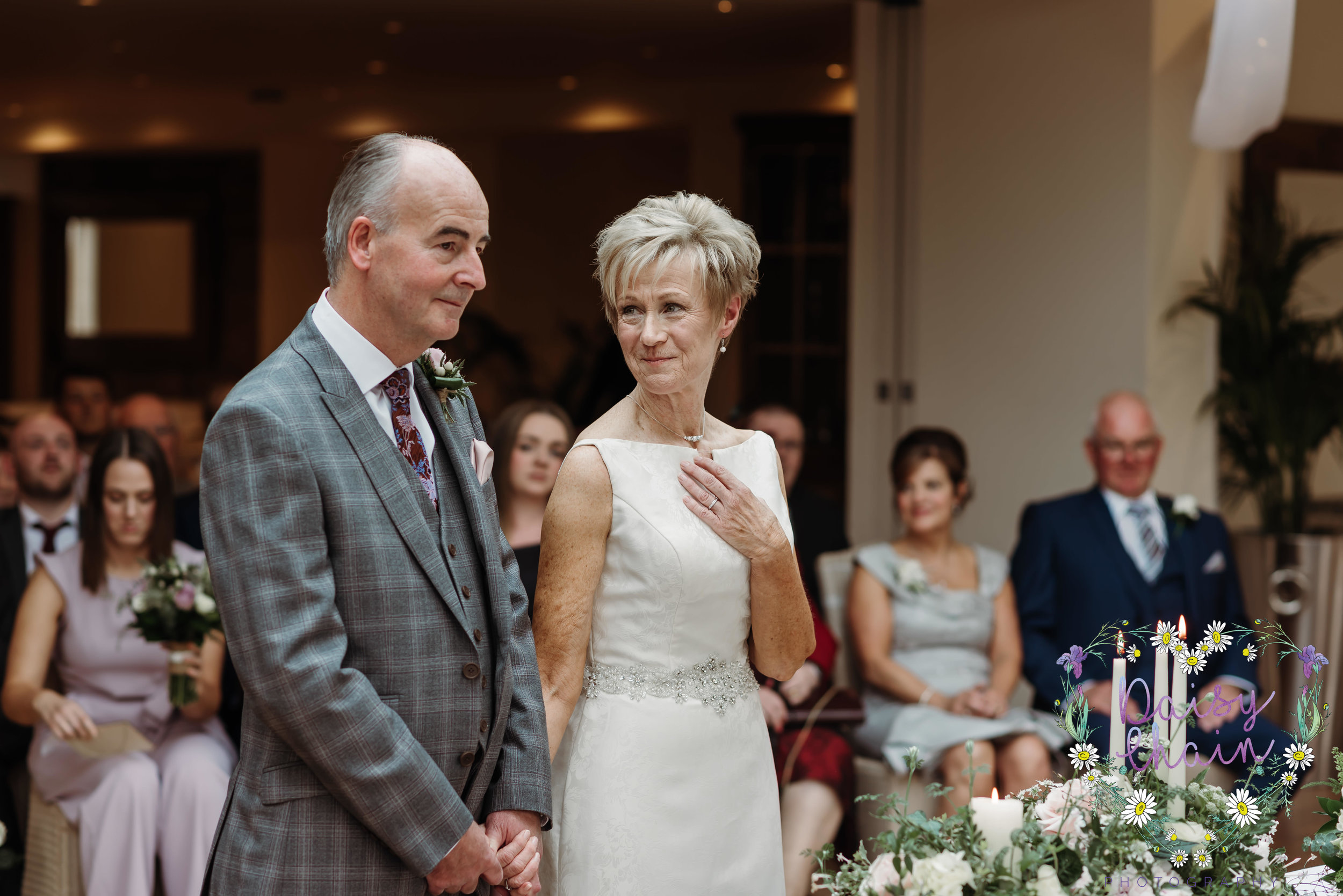Natural wedding photographer - lancashire