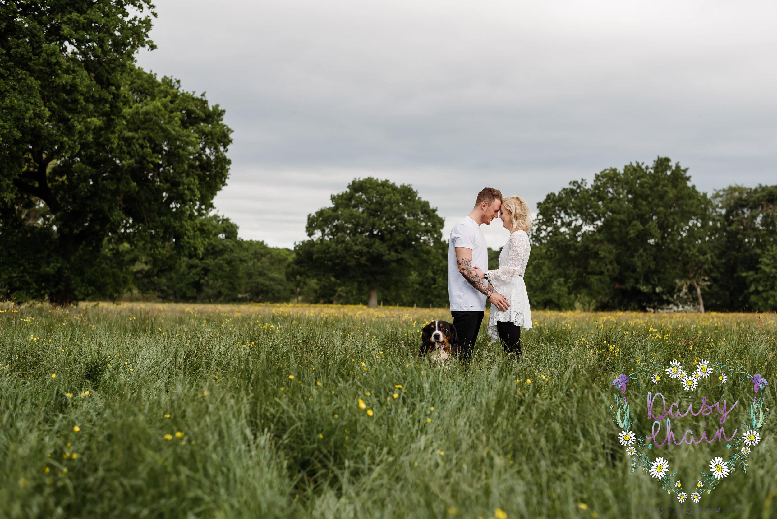 Lancashire engagement shoot