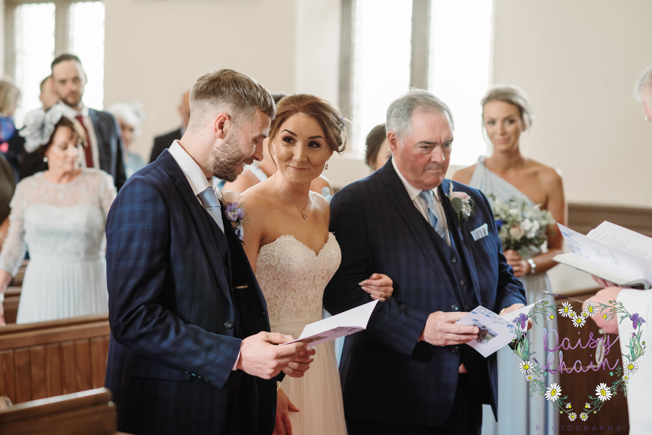 Ribble Valley church wedding