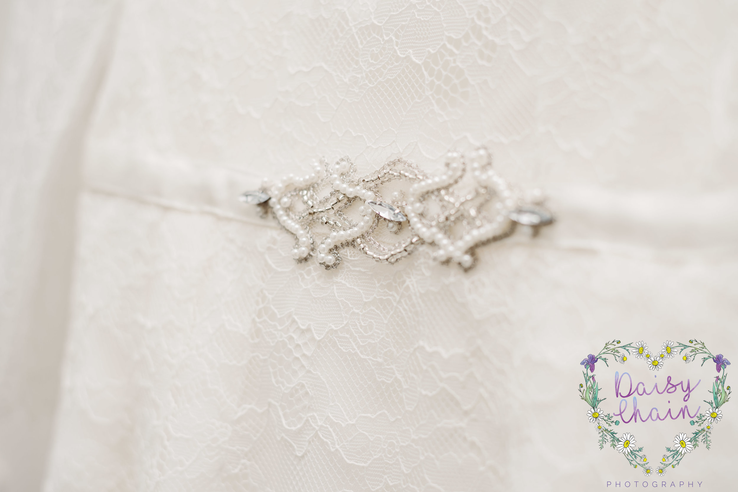 Monsoon wedding dress - detail
