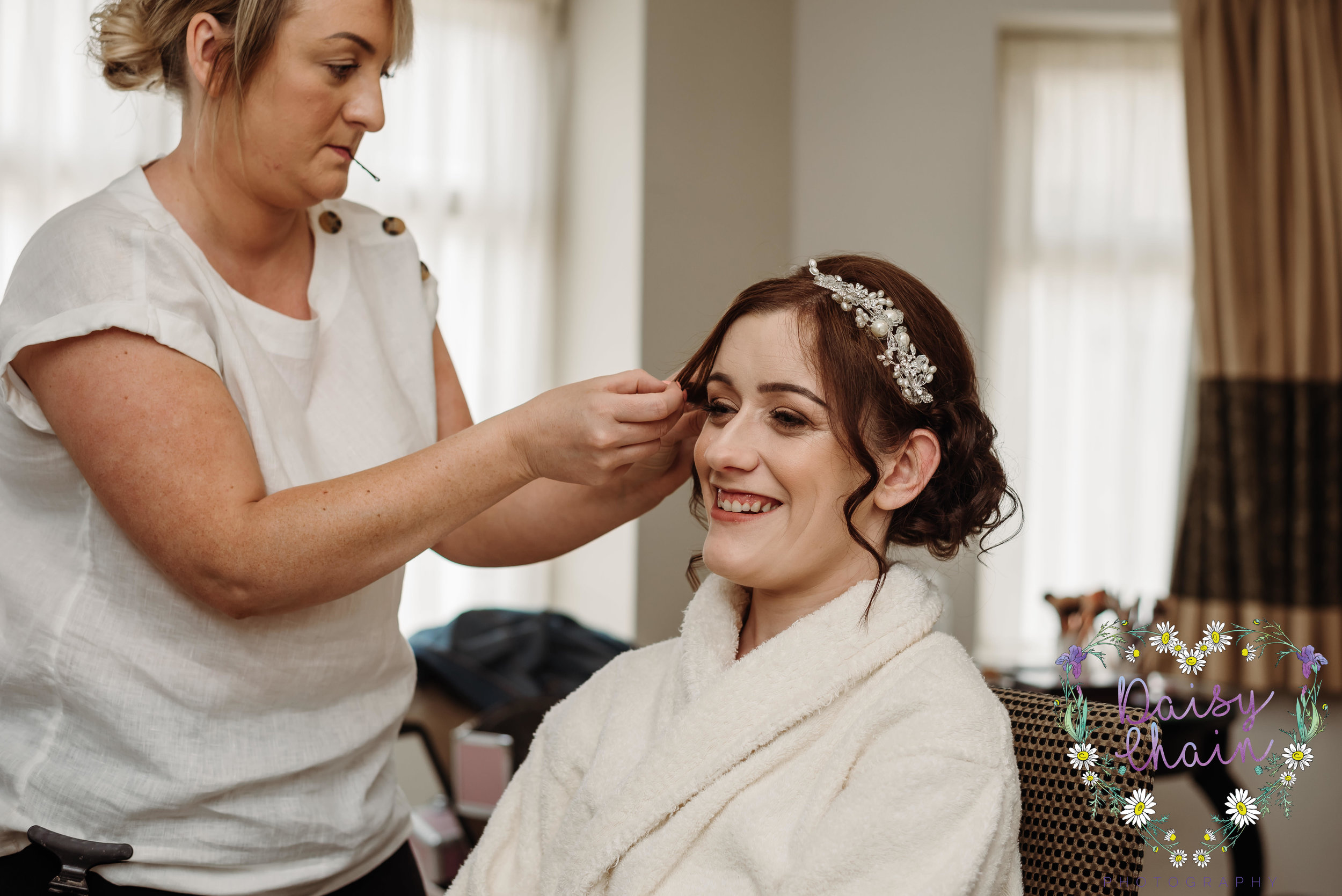 Bridal preparation - Blackburn