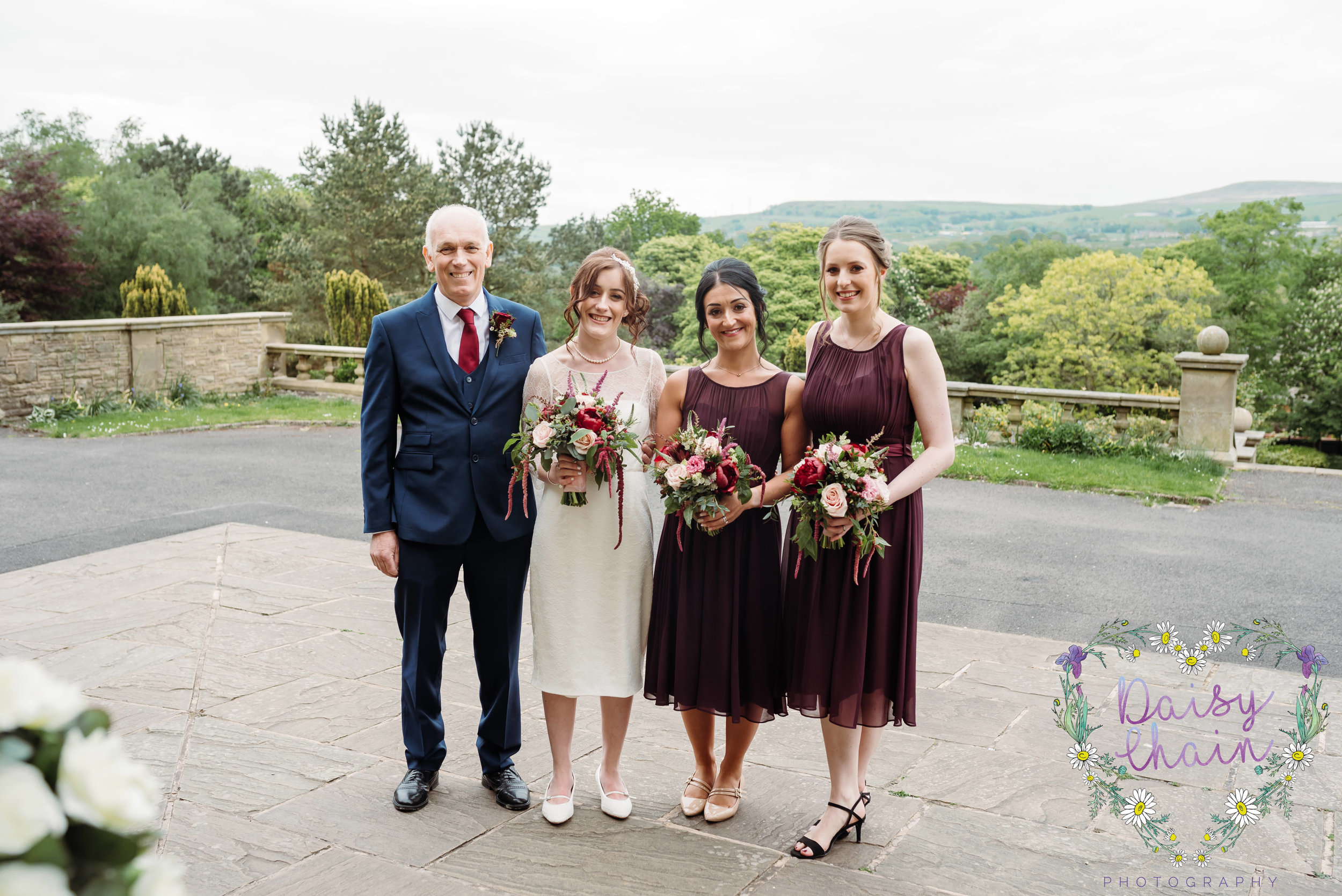 Bridal party - Howarth Art Gallery