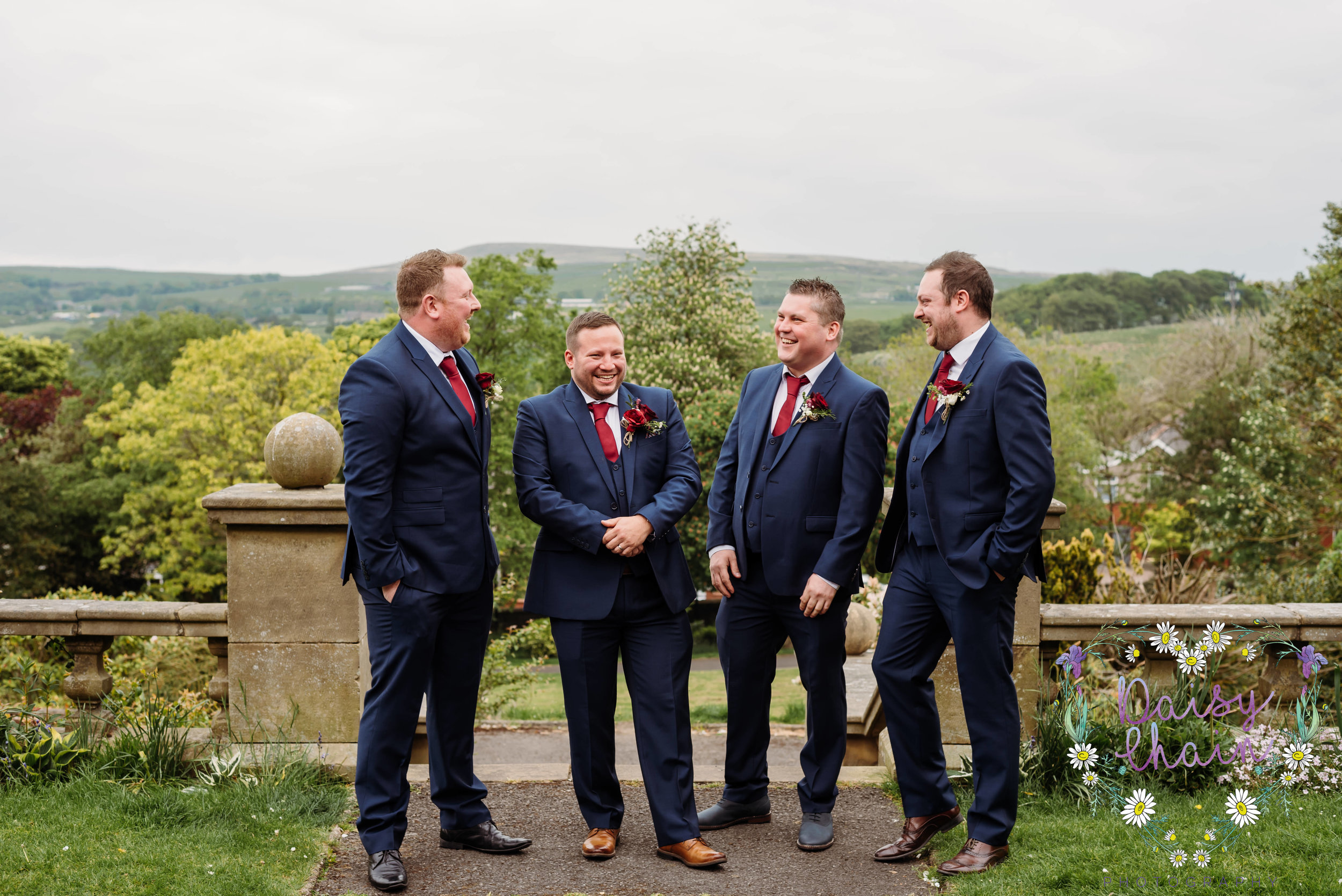 Groom and his groomsman - Howarth Art Gallery