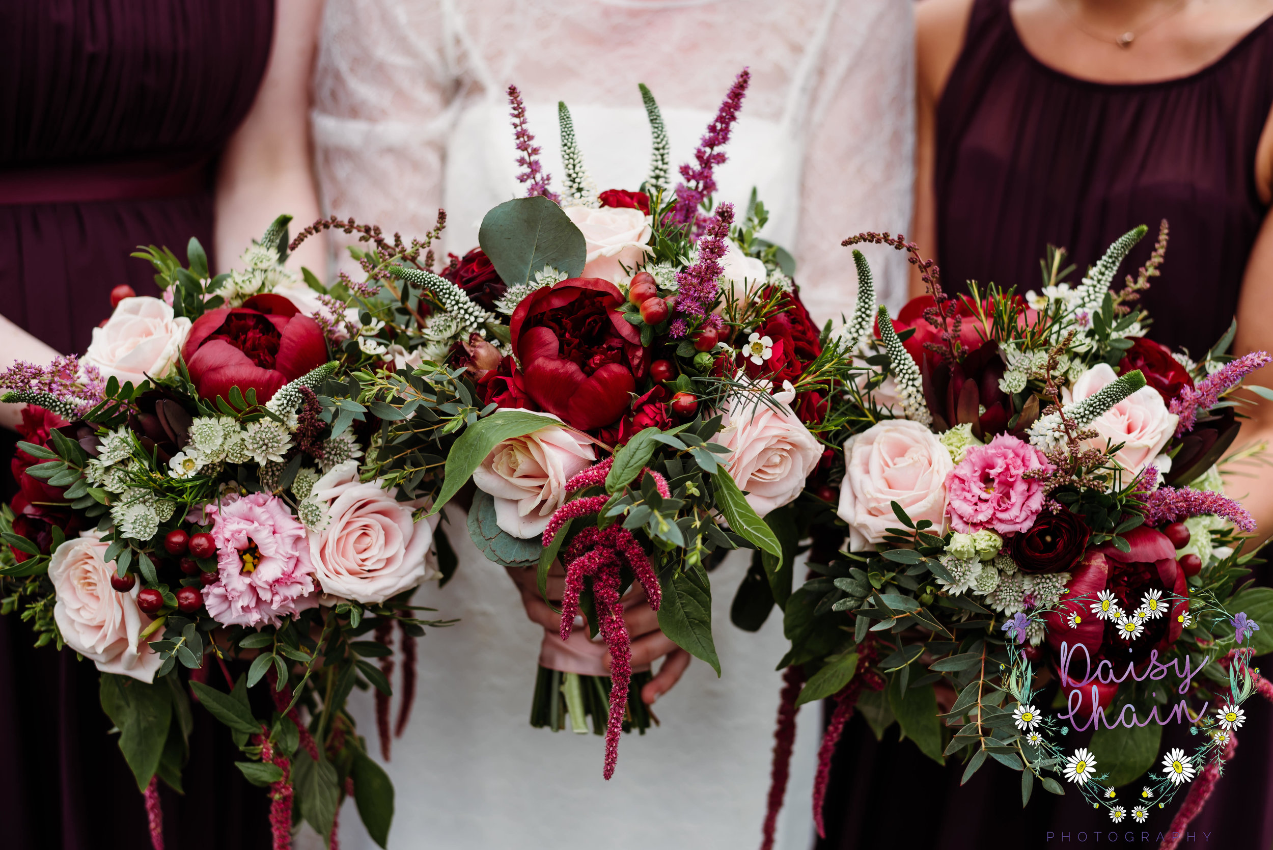 Rustic wedding bouquets - Accrington