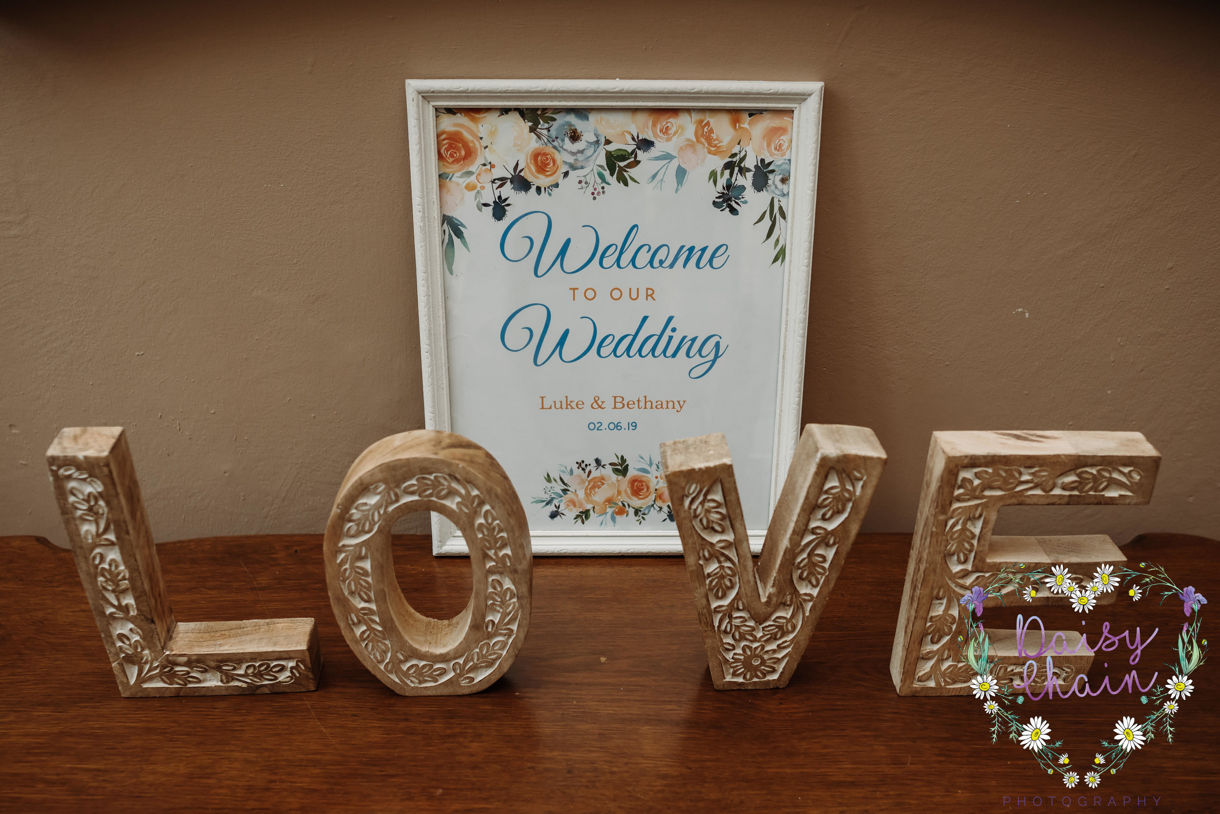 Wedding letters - love