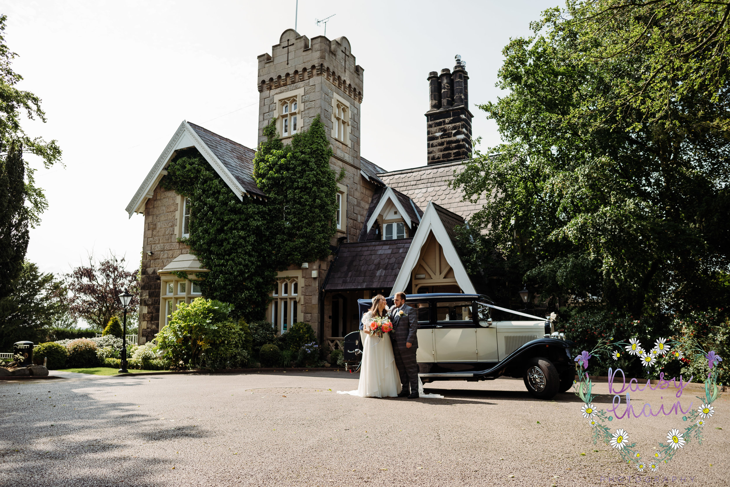 West Tower, Aughton wedding
