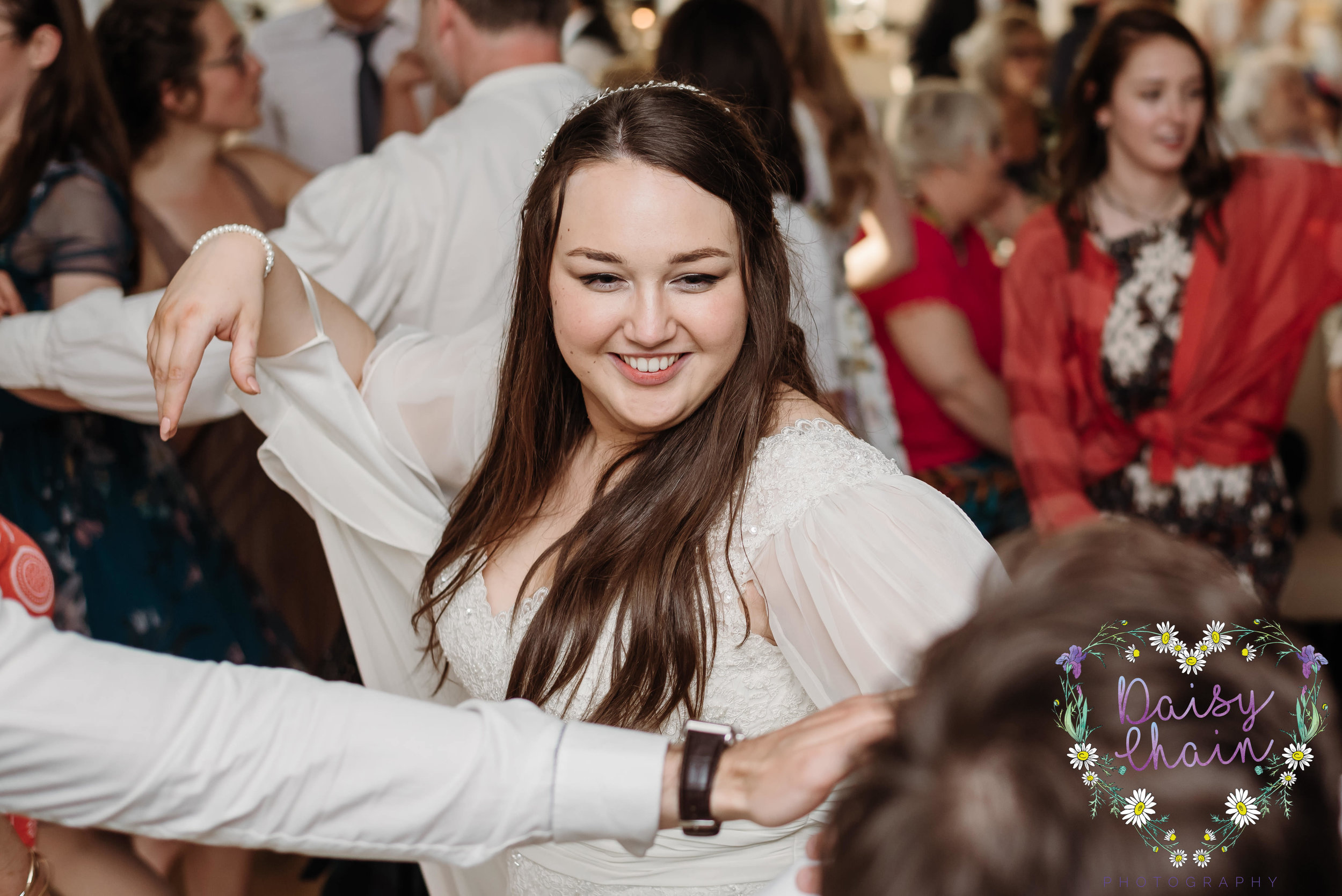 Bride - Ceilidh dancing