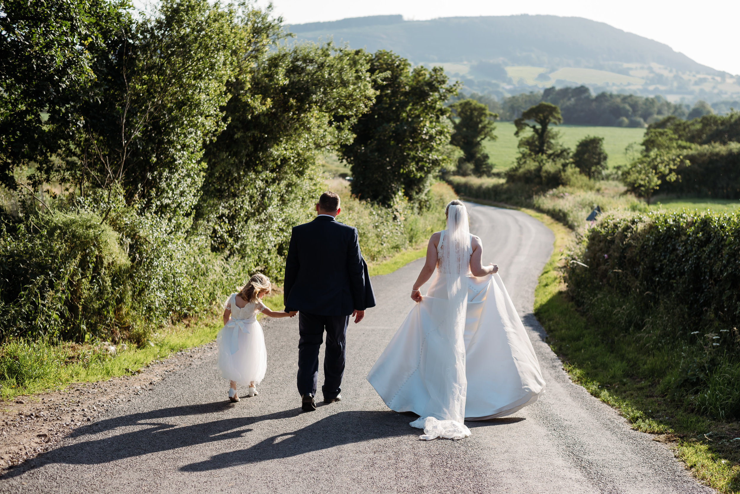 Family wedding photographer - Lancashire