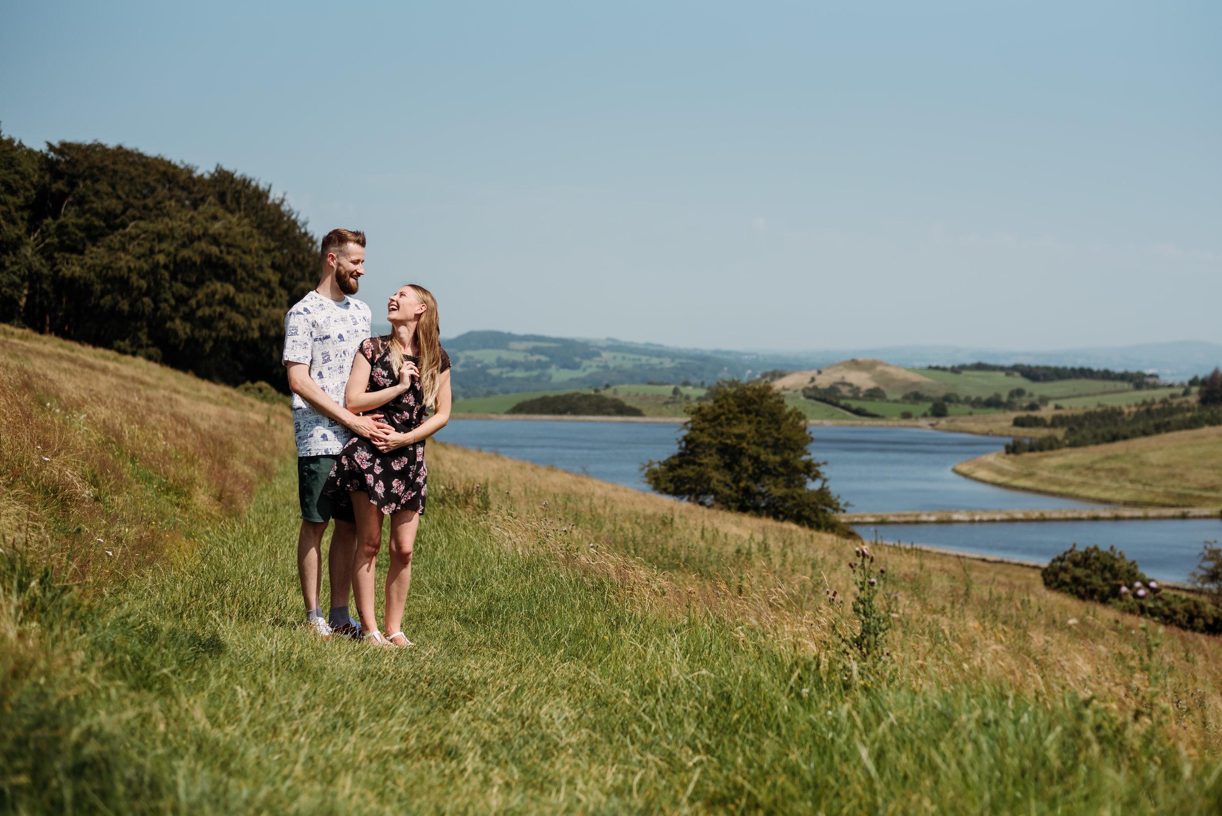 Couple's photo shoot - Ribble Valley