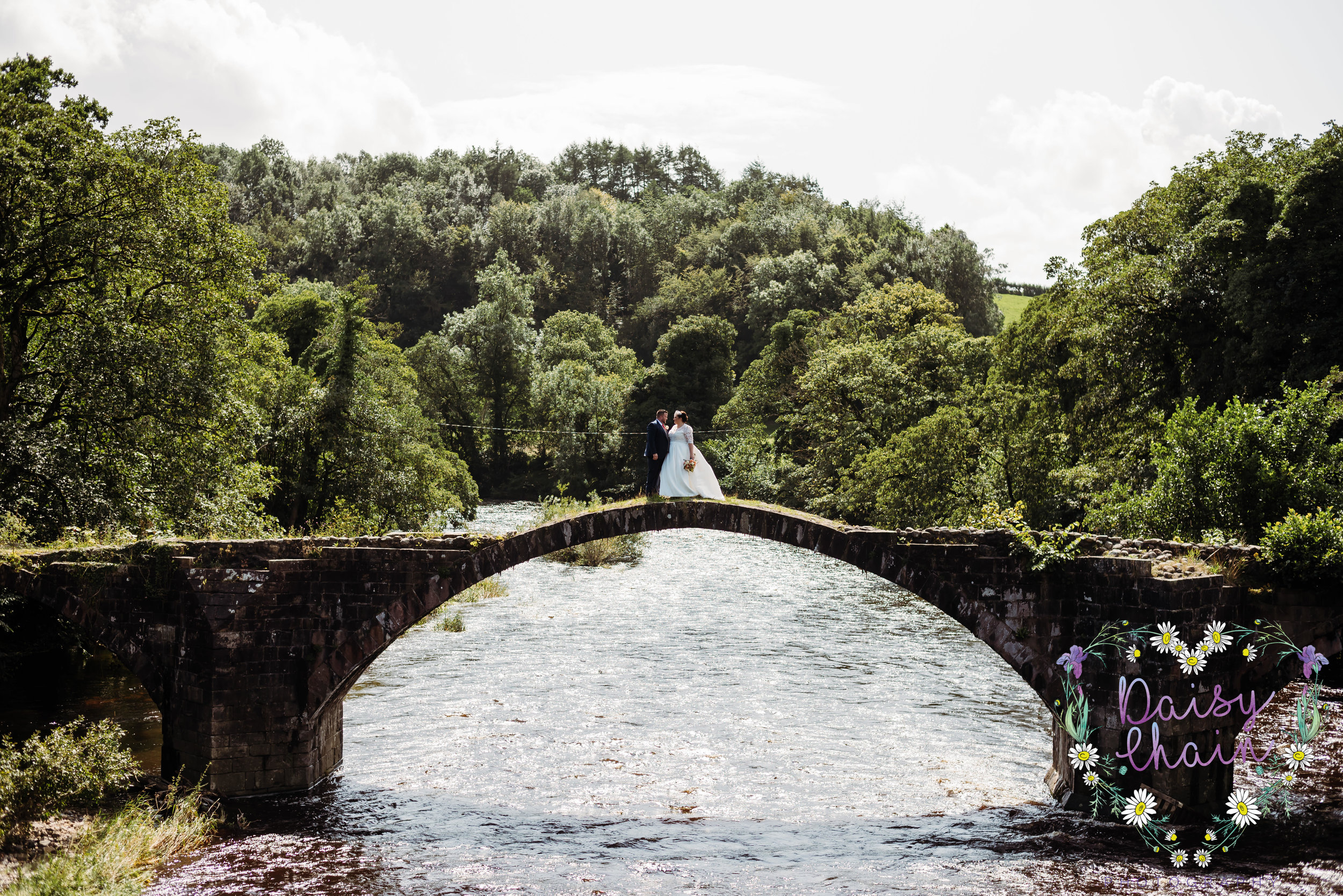 Cromwell's Bridge, Hurst Green - wedding