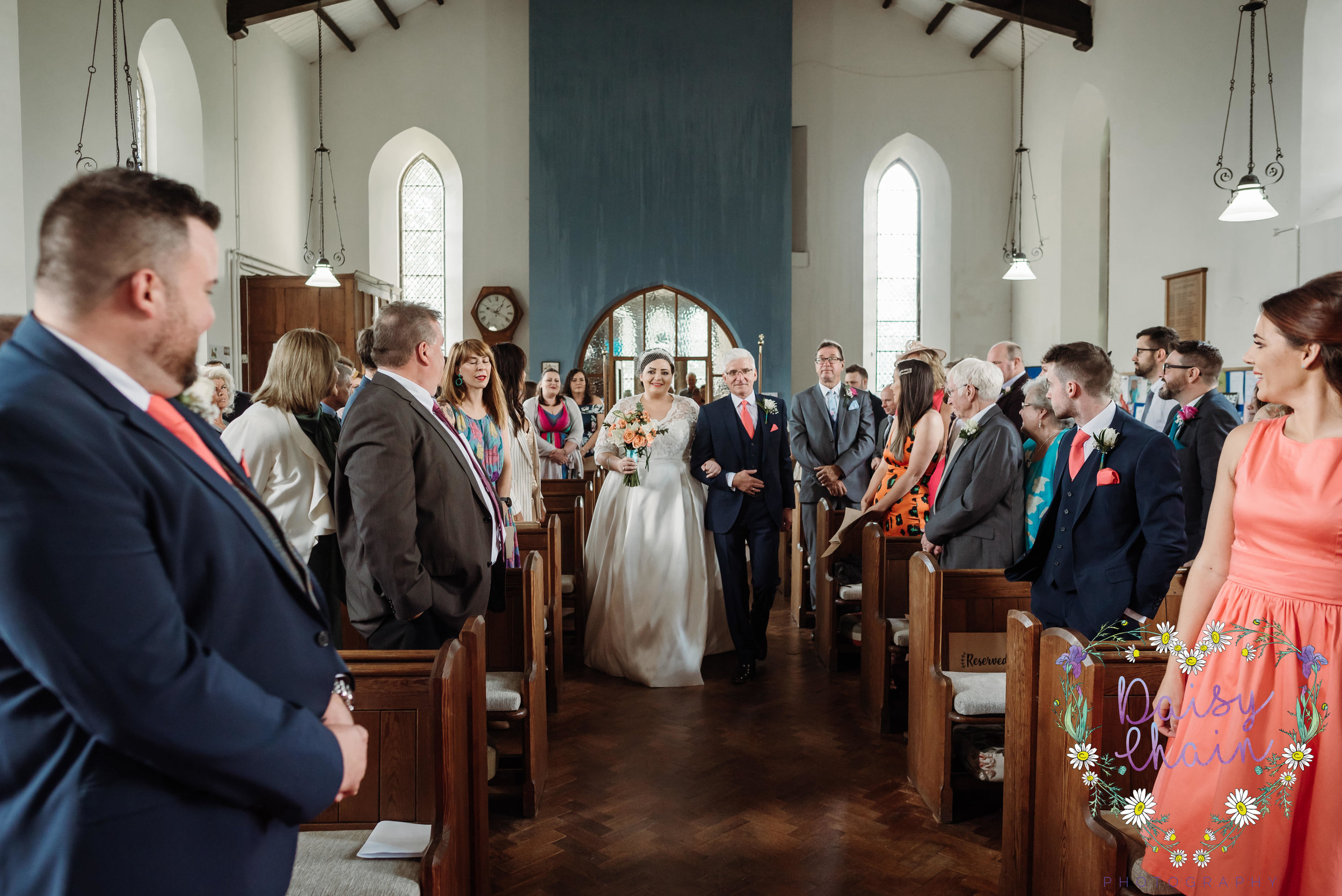 Church wedding  - Clitheroe