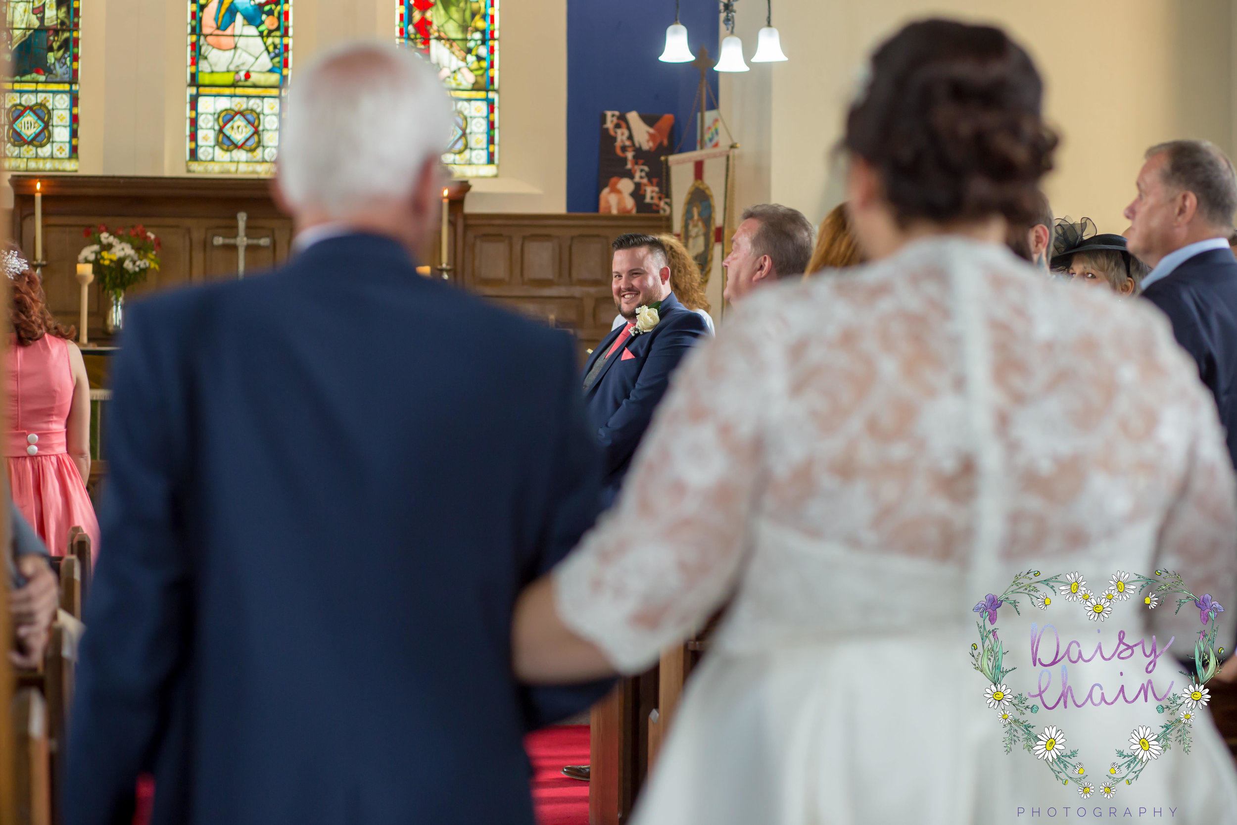 Church wedding - lancashire