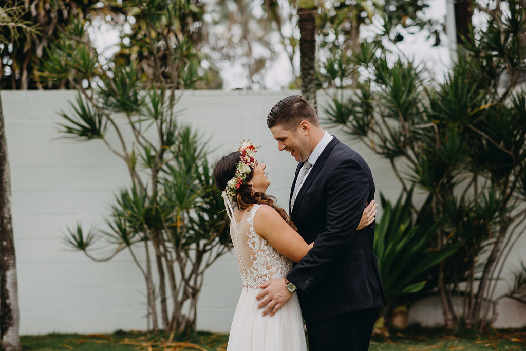 Oahu Elopement | Bride & Groom Wedding Portraits