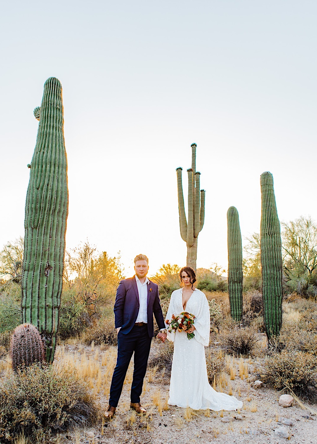 arizona desert wedding