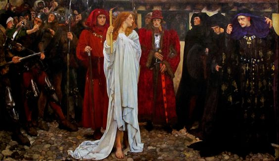 The Heretic by Frank Craig, 1906
