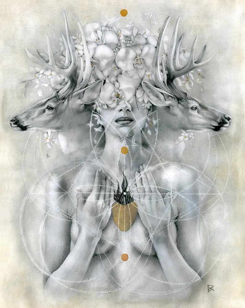 Artwork: Compassion by  Patricia Ariel