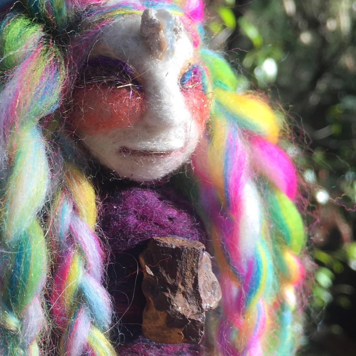 Opal Rainbow Spirit Doll -
