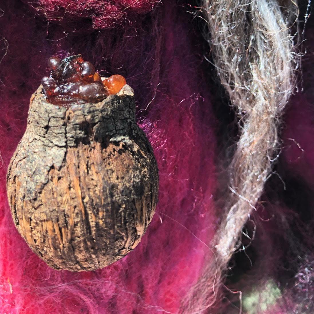 Snake and Acacia Spirit Doll -