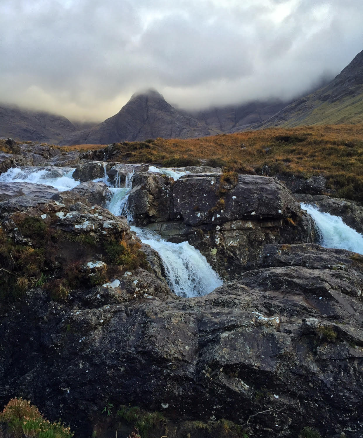 Fairy Pools on the Isle of Skye - Sacred Familiar Scottish Pilgrimage