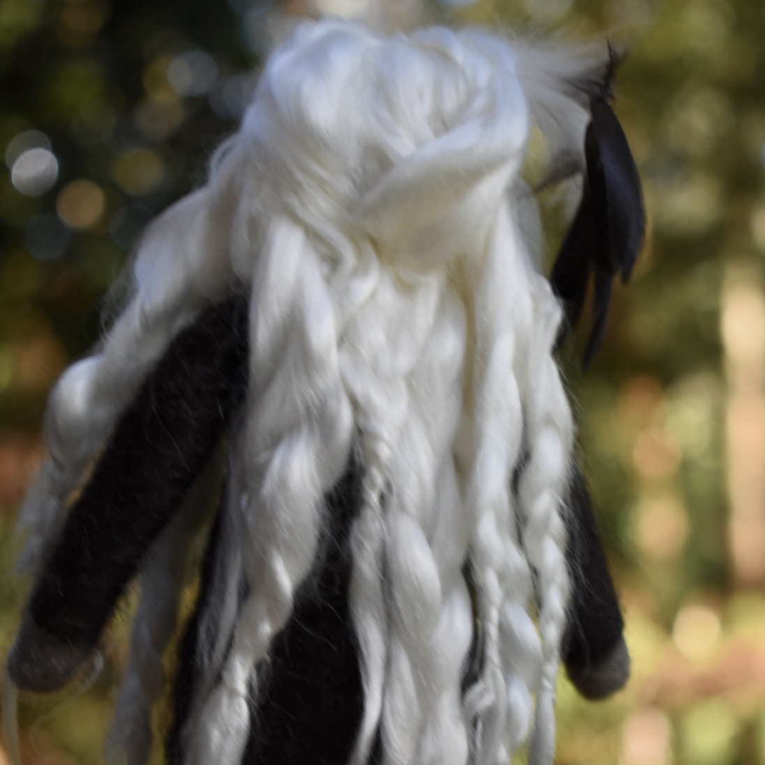 Crow Crone Spirit Doll -