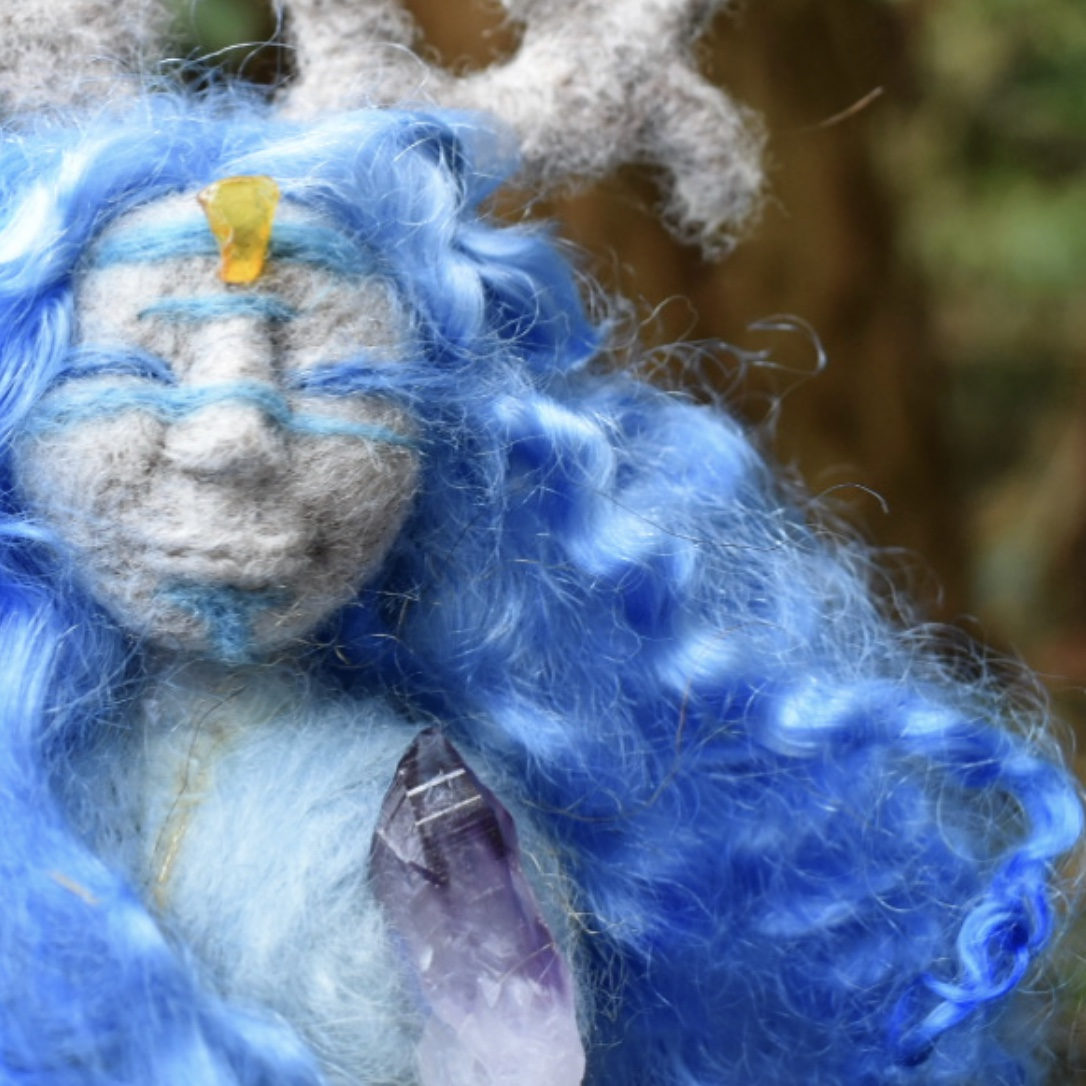 The Indigo Doe Spirit Doll -