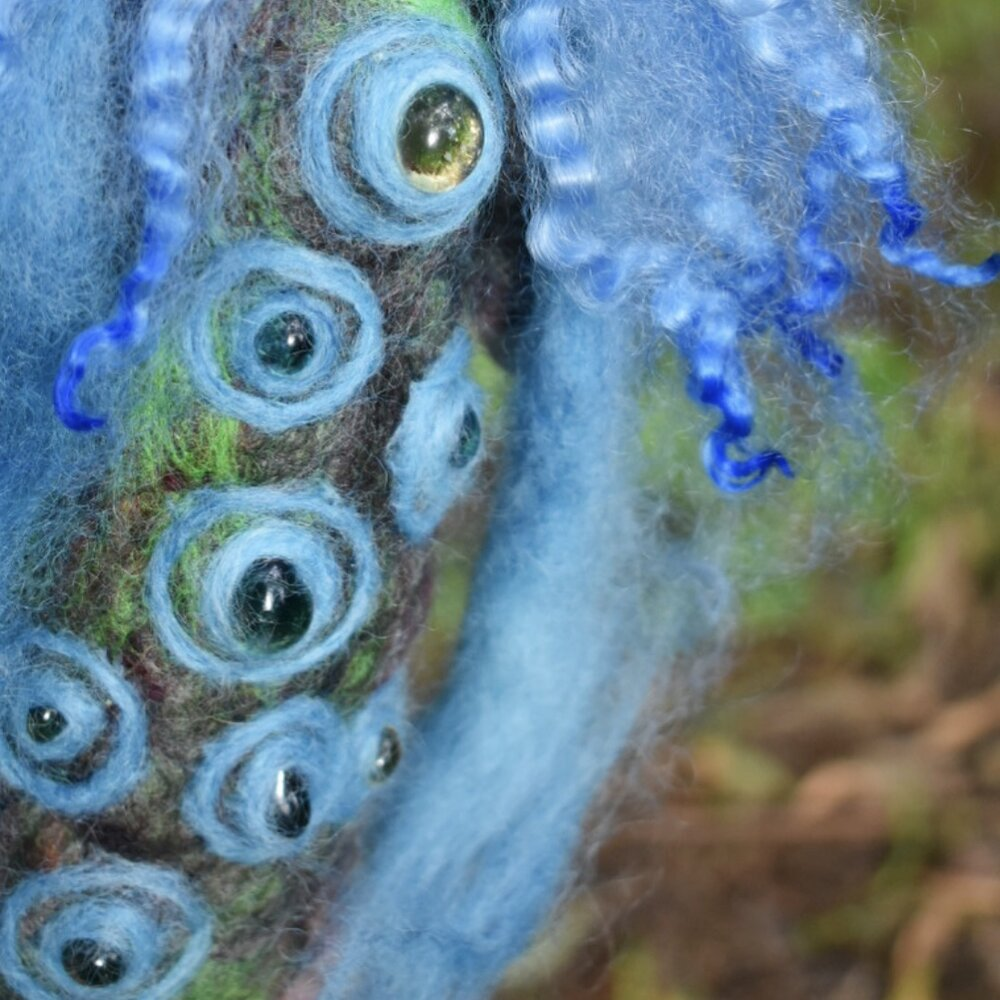 Indigo Plant Spirit - Secrets of the Waterfall -