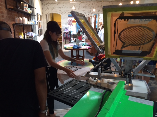 21st Anniversary Preview & Live Screenprinting Event with Junk Food Clothing Co.