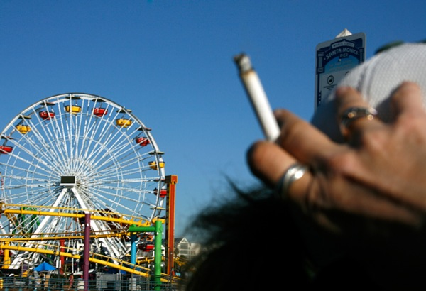 """""""Smoke Out"""" at the Pier"""