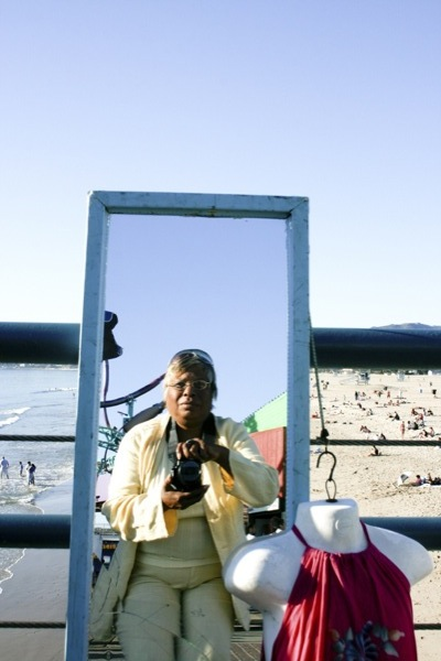 A Homeless Self-Reflection at the Beach