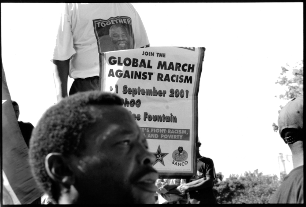 Global March Demonstration World Conference Against Racism