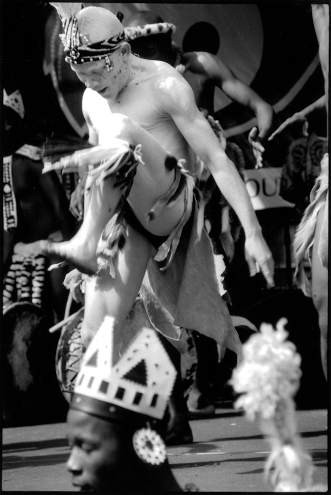 Albino Zulu Dancer, Opening of World Conference Against Racism