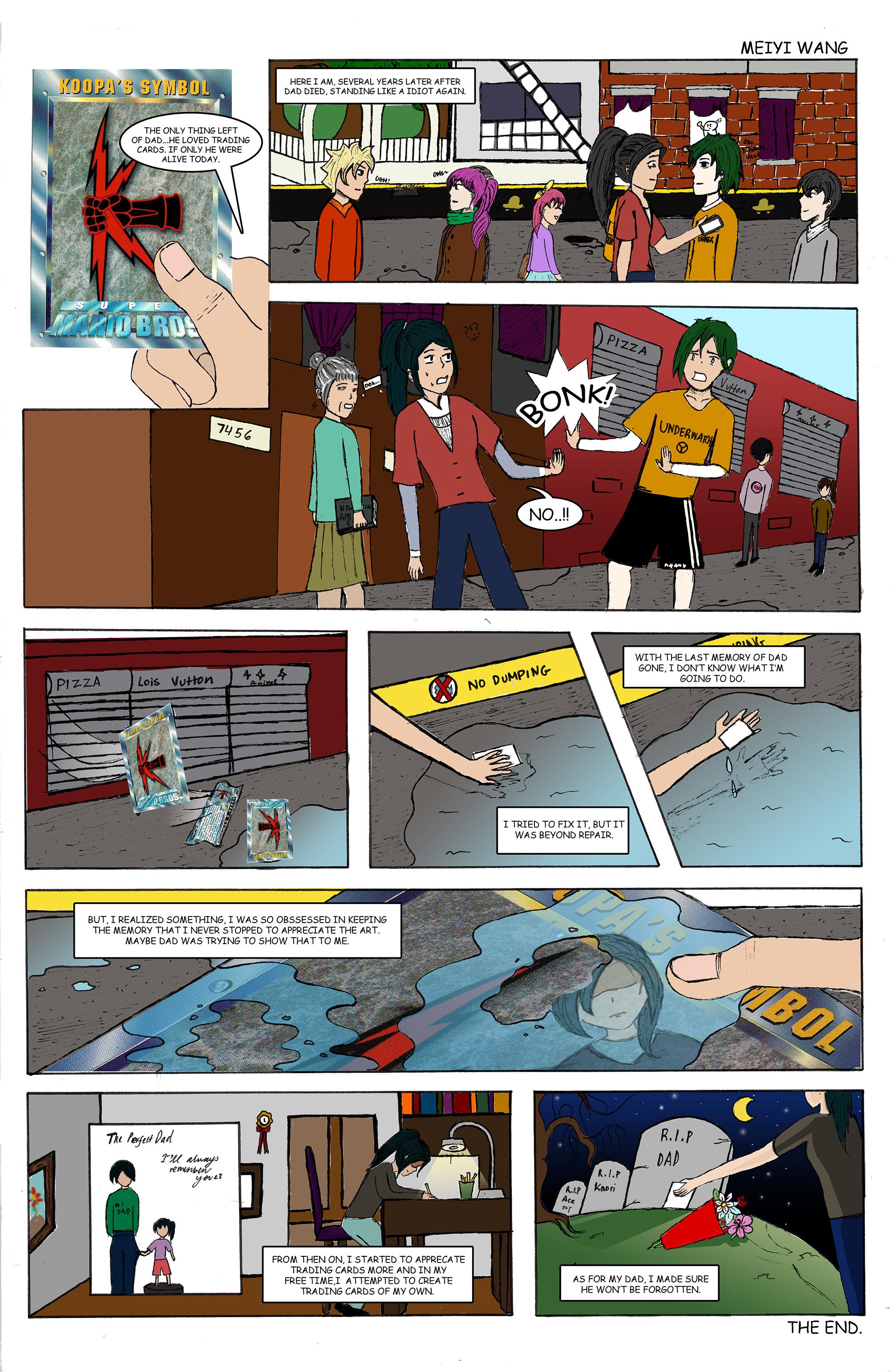 Comic by Meiyi Wang