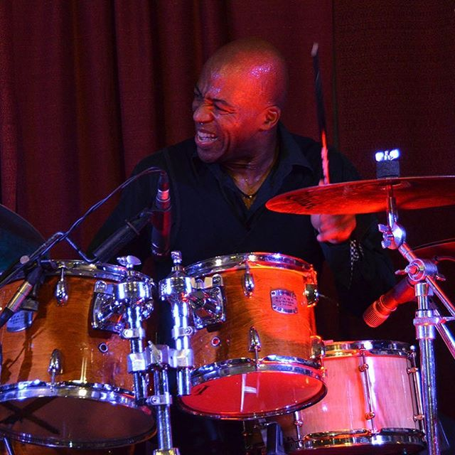 Having fun on drums! #firstlove #childdrummer #keithrobinsonmusic #keithrobinsonguitar #funondrums